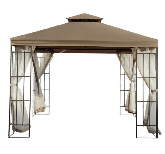 3 X 3m Patio Metal Gazebo Canopy Tent