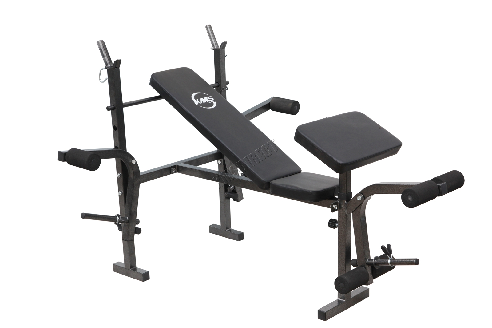 Foldable Home Gym Fitness Weight Lifting Bench Press Arm