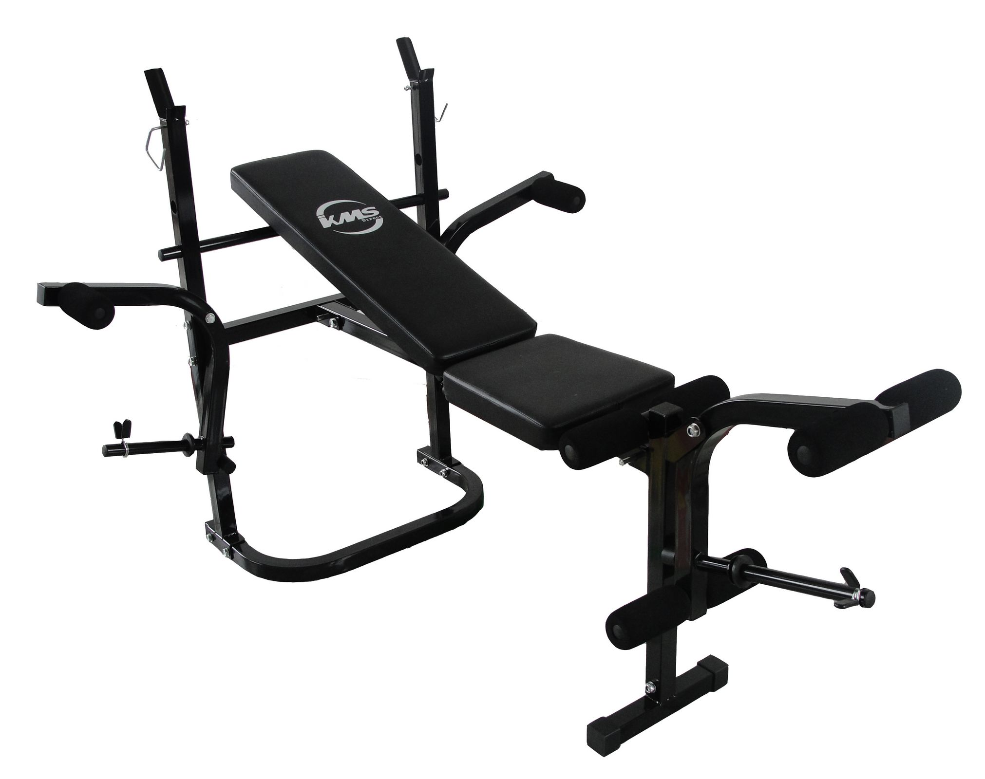 Foldable Gym Fitness Weight Lift Bench Press Arm Leg Curl