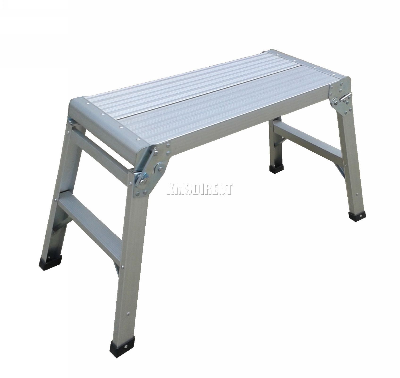 Aluminium Folding Step Hop Up Work Platform Bench Stage