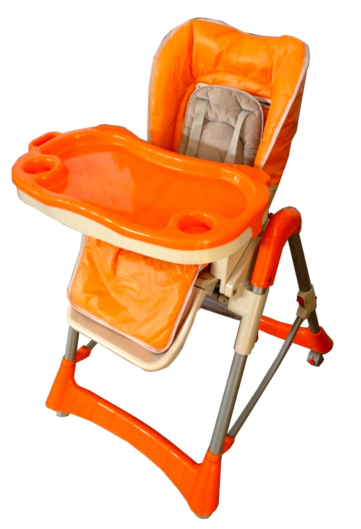 Foldable-Baby-High-Chair-Recline-Highchair-Height-Adjustable-Feeding-Seat-New