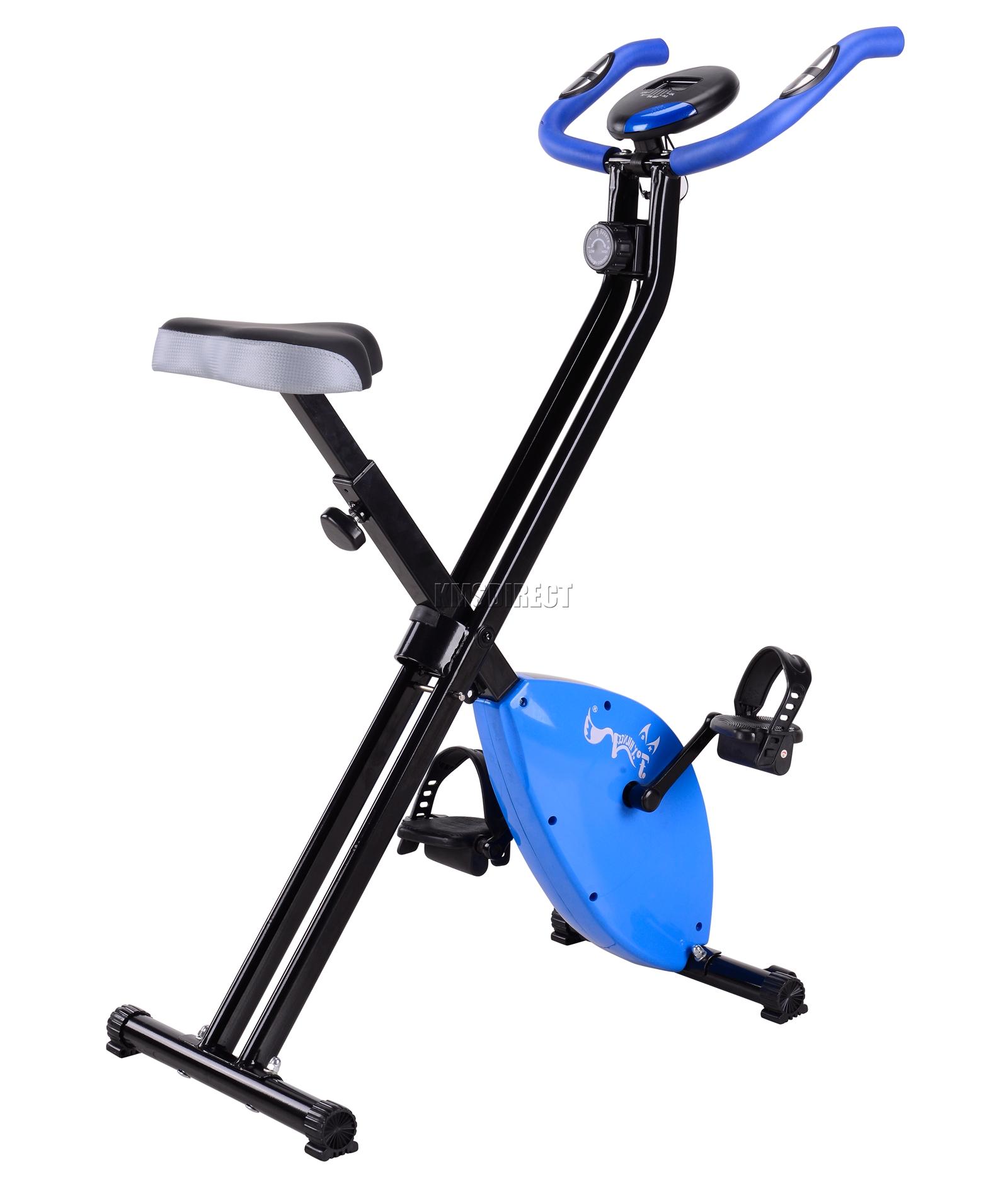heimtrainer zusammenfaltbar magnetisch x fahrrad fitness cardio workout ebay. Black Bedroom Furniture Sets. Home Design Ideas