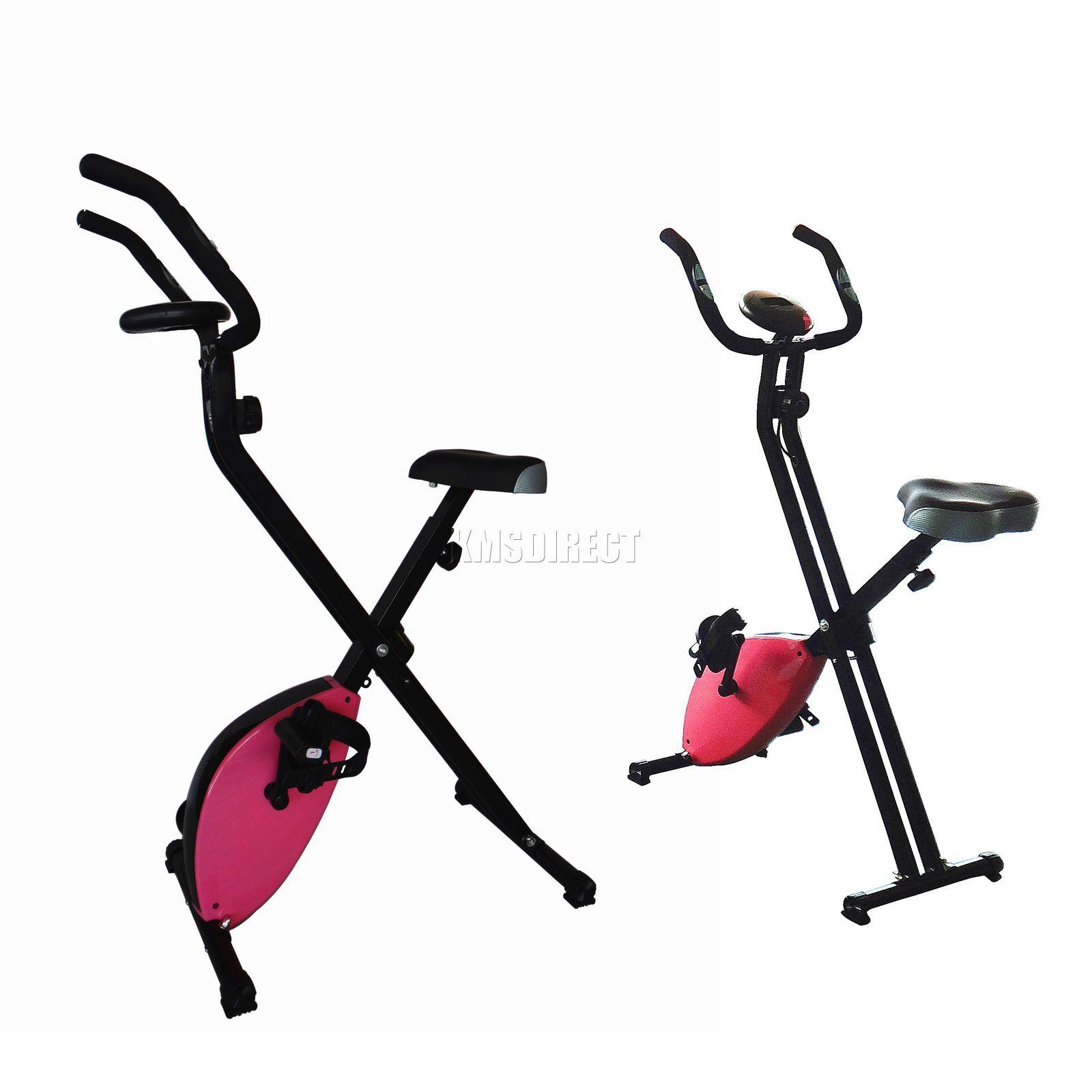 V lo pliant perte magn tique x bike fitness workout io poids rose - Velo semi allonge perte de poids ...