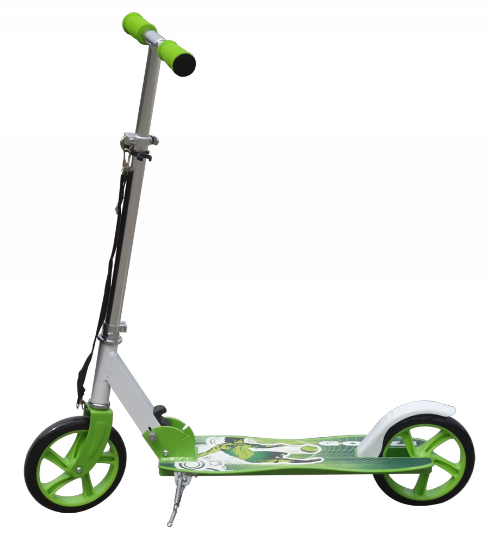 Green Aluminium Kids Pro Folding Push Urban Kick Scooter 2 ...