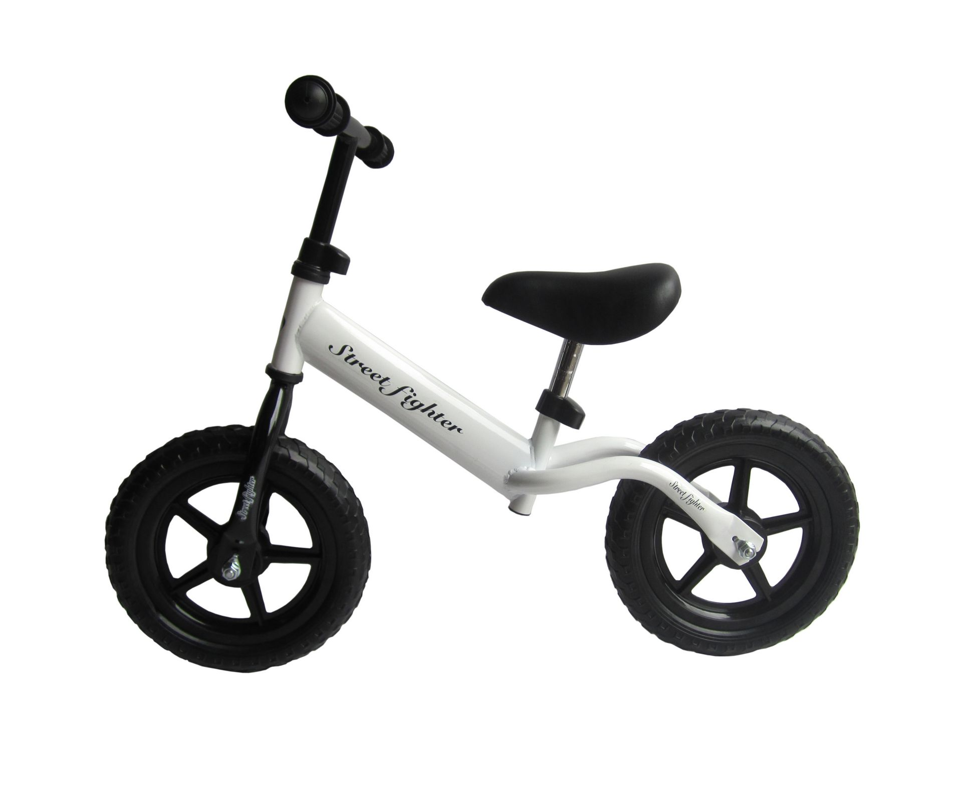 White B01 Kids Steel Balance Bike No Pedal First Running Training Learning Cycle