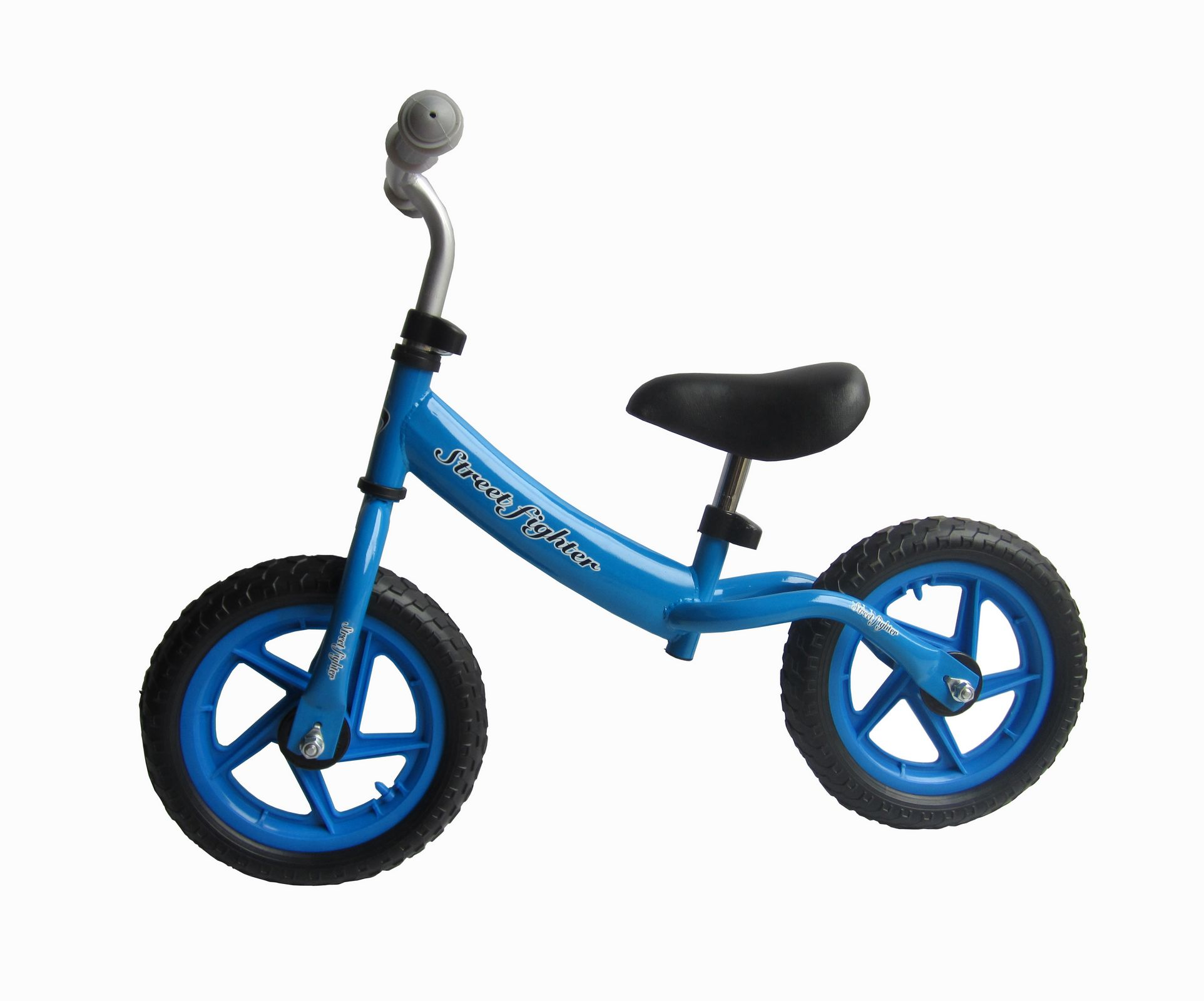 Blue B02 Kids Steel Balance Bike No Pedal First Running Training Learning Cycle