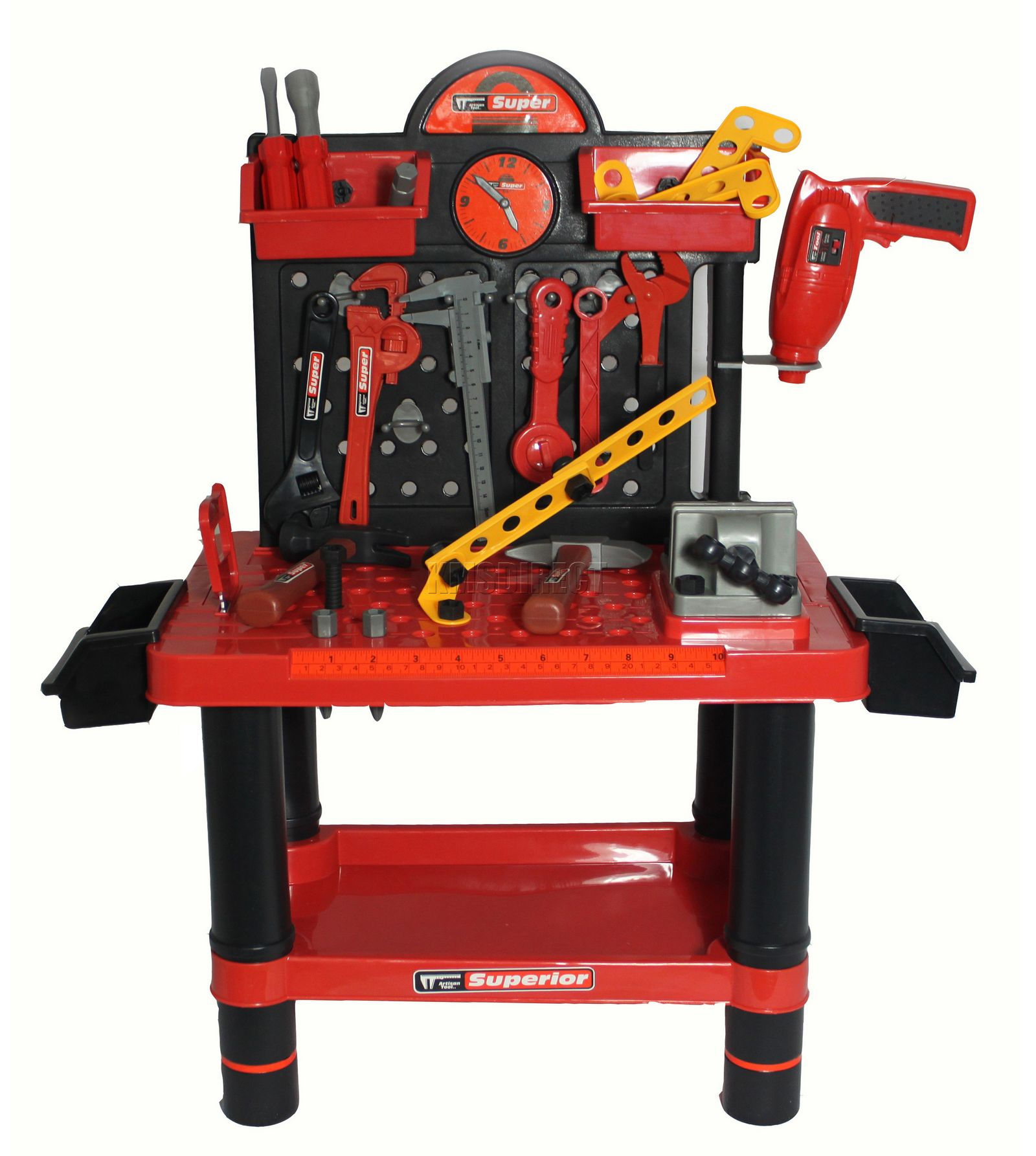 Toy Tools For Boys : Pc children kids boys tool drill kit work bench set role