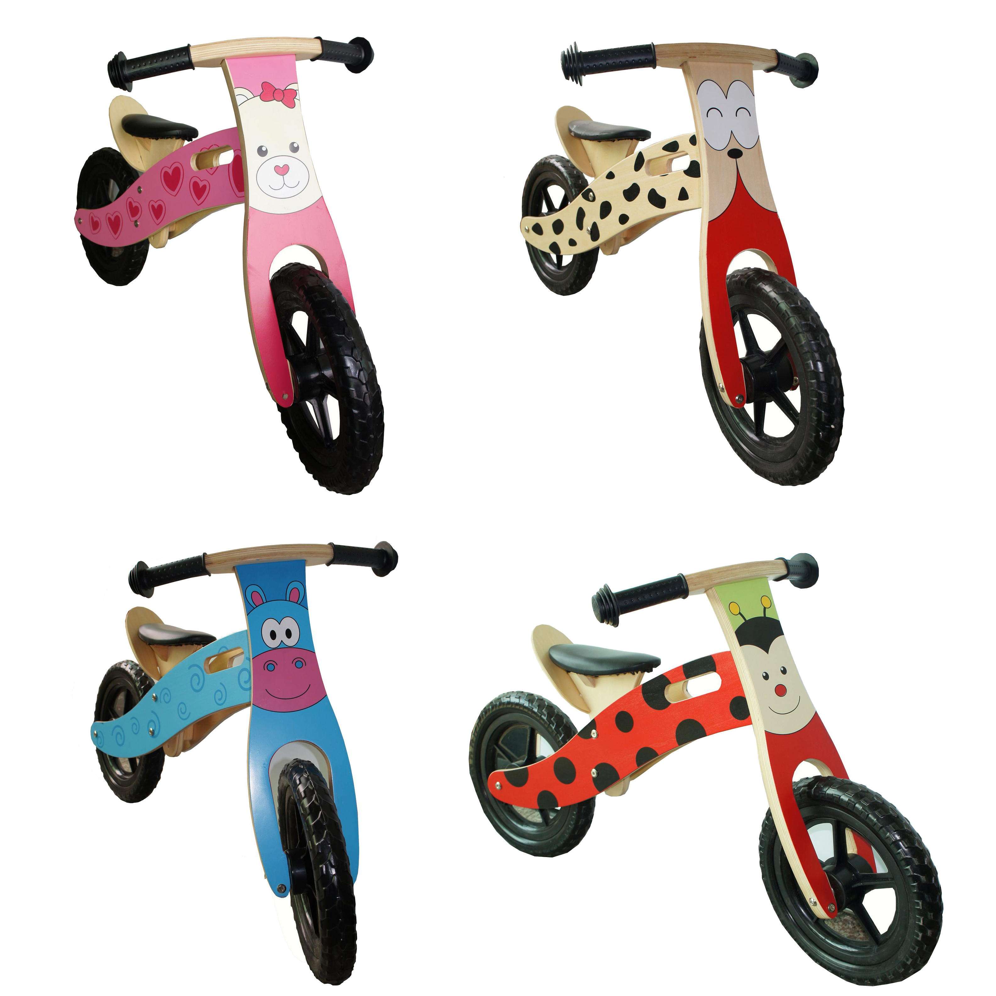 Bikes For Toddlers No Pedals Kids Wooden Balance Bike No