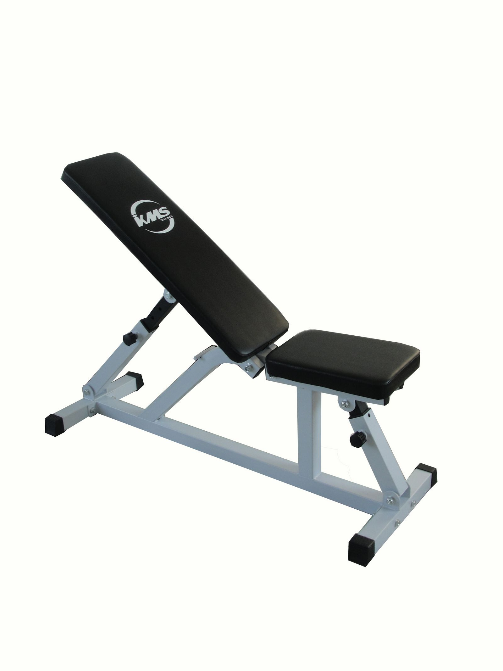 Positions adjustable dumbell weight bench flat incline