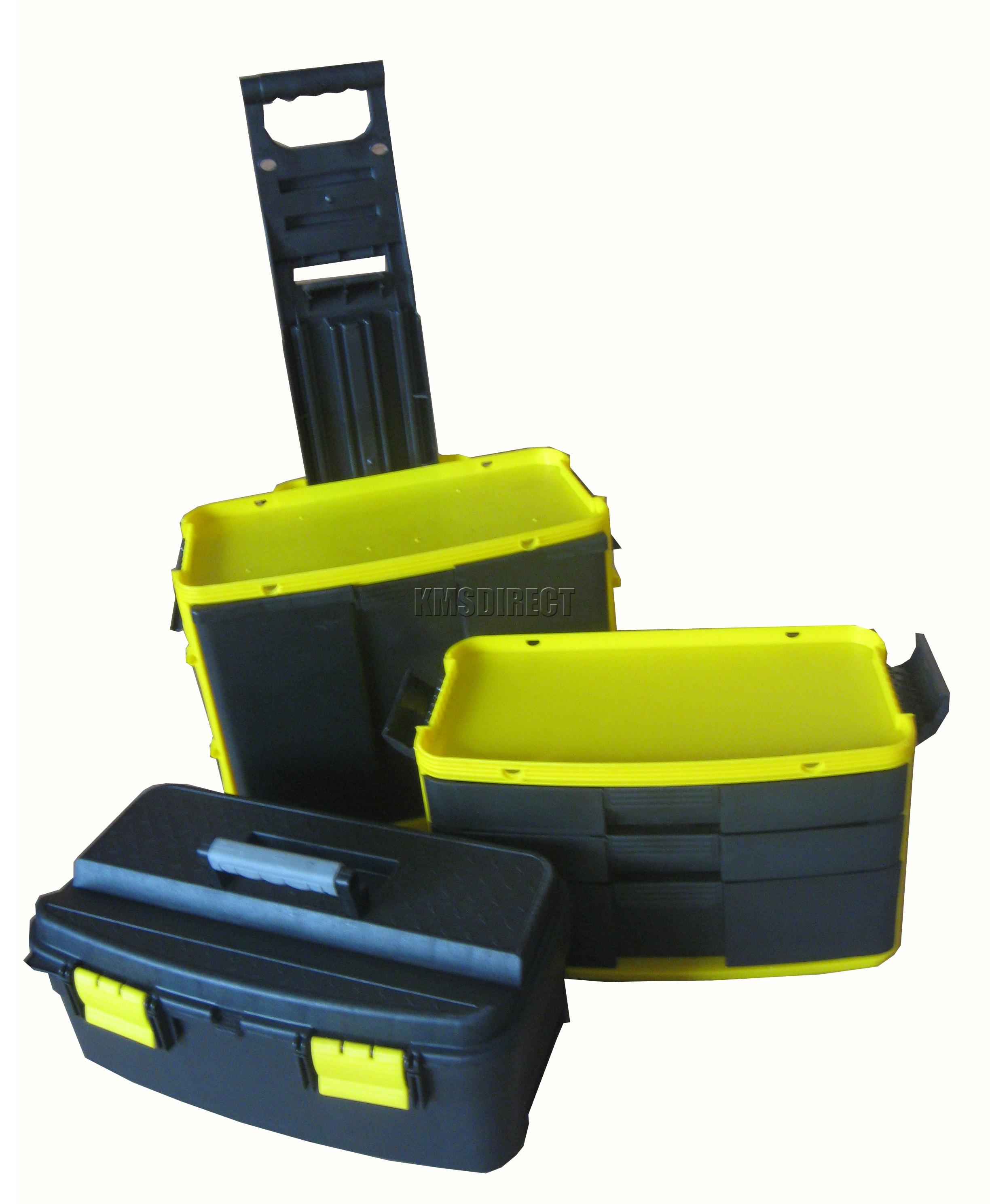 Foxhunter mobile roller workshop chest trolley storage - Mobel roller teppiche ...