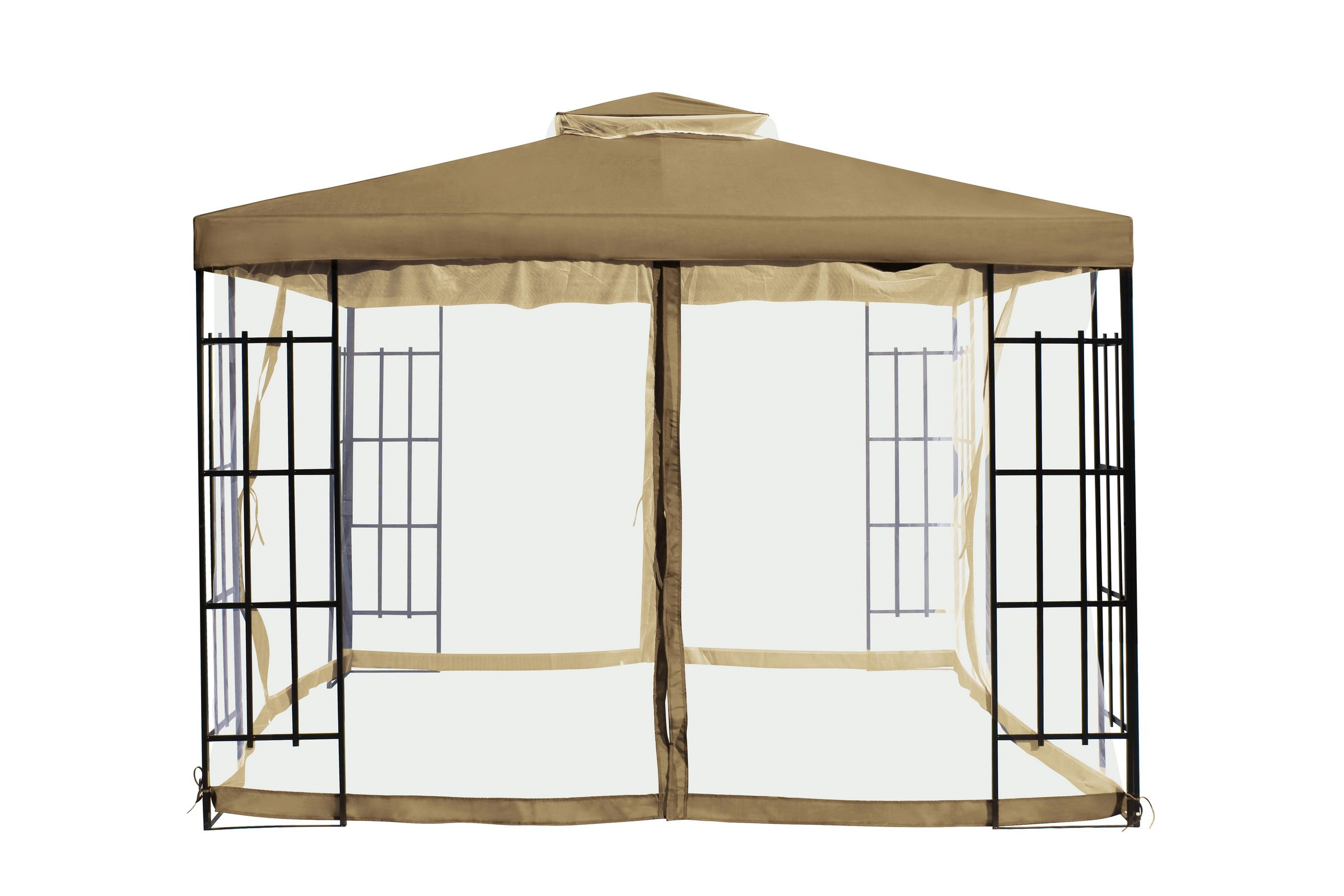 Carpa glorieta foxhunter 3x3 metros jard n patio refugio - Carpas para patios ...