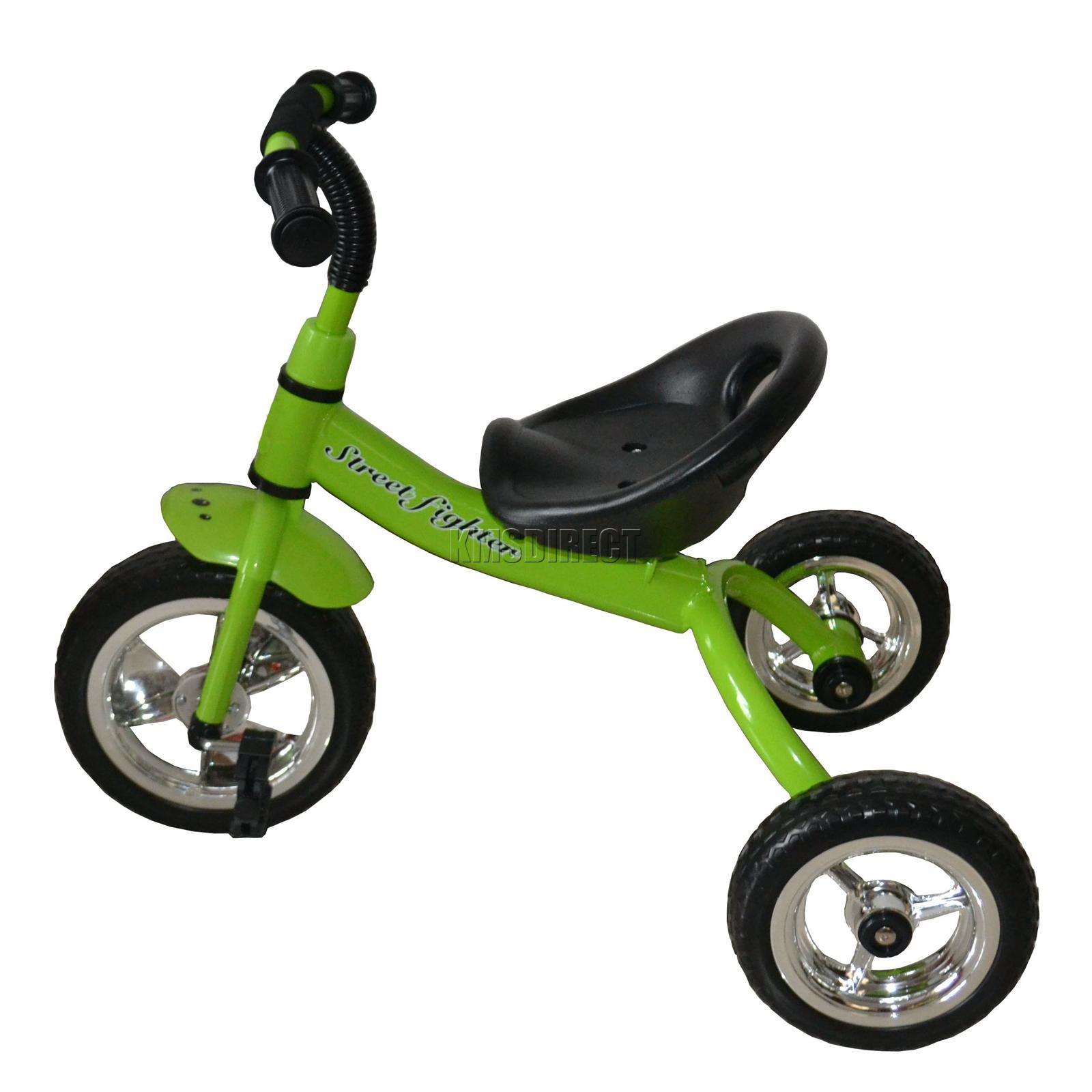 foxhunter green kids child children trike tricycle 3 wheel. Black Bedroom Furniture Sets. Home Design Ideas