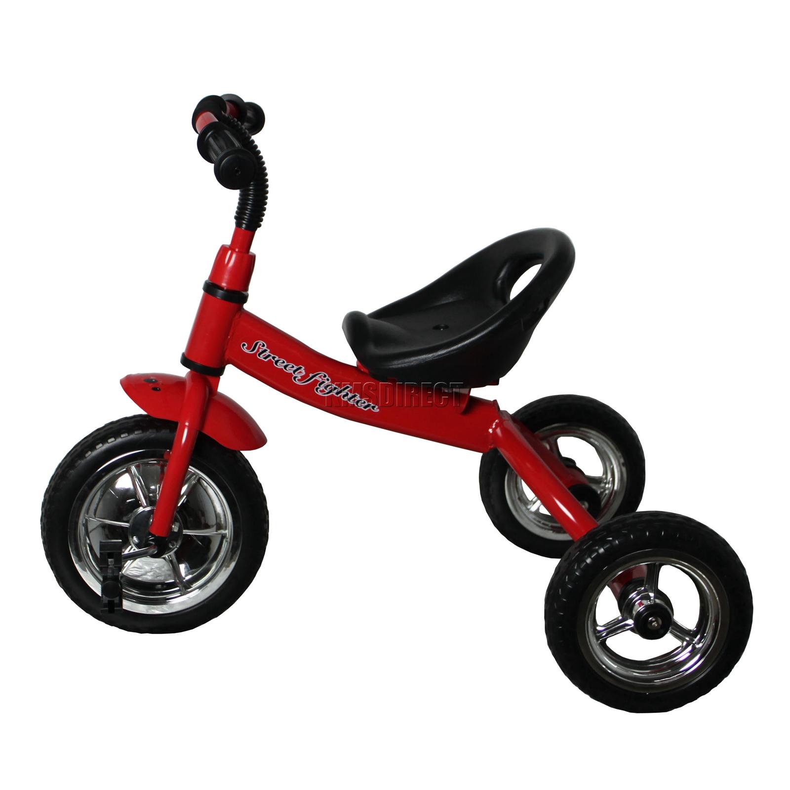 foxhunter red kids child children trike tricycle 3 wheeler. Black Bedroom Furniture Sets. Home Design Ideas