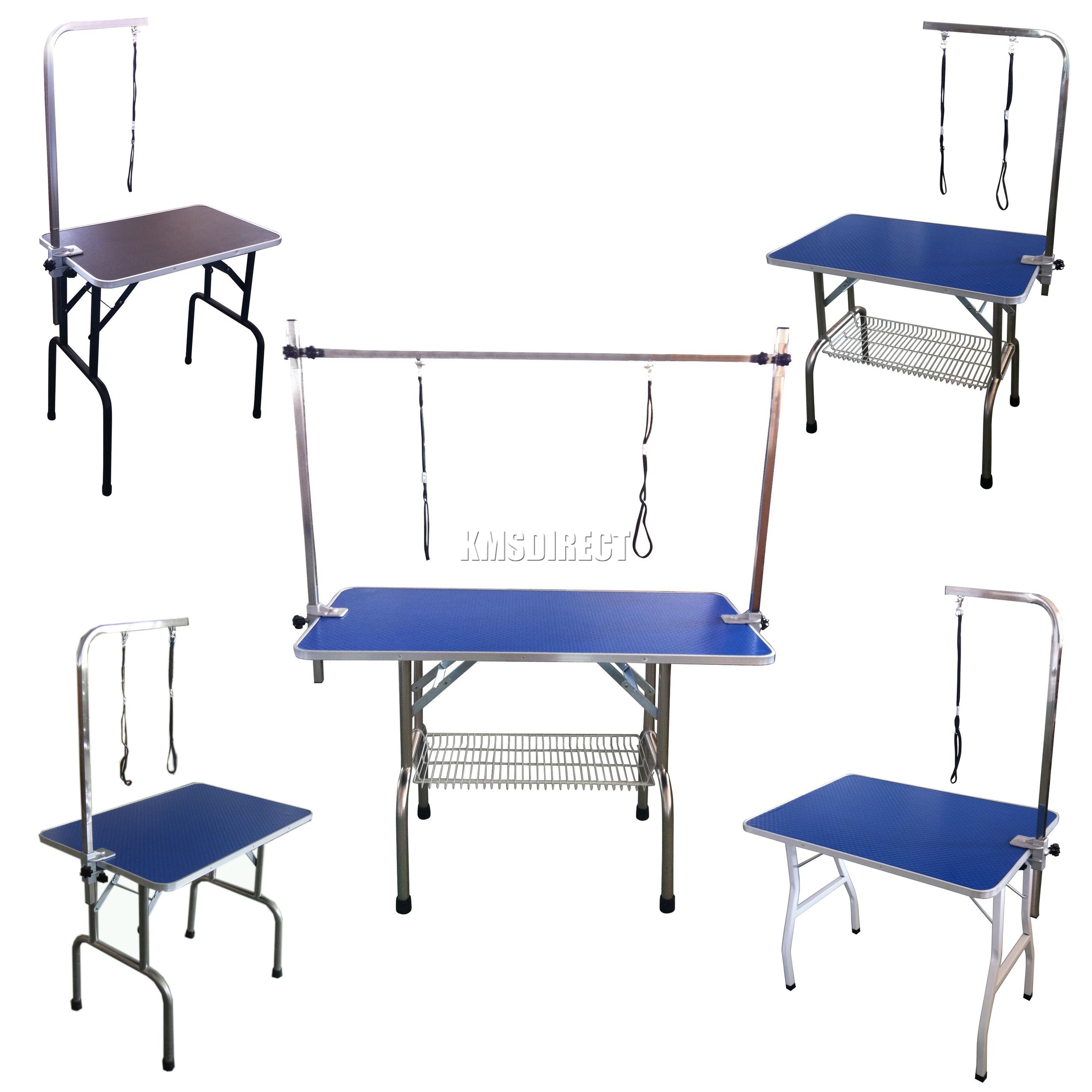 Foxhunter Folding Dog Pet Grooming Table