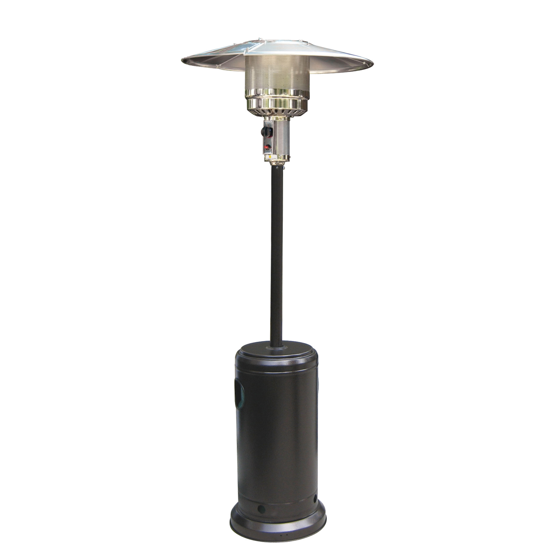 Black Powder Coated Hammered Metal Steel Outdoor Garden