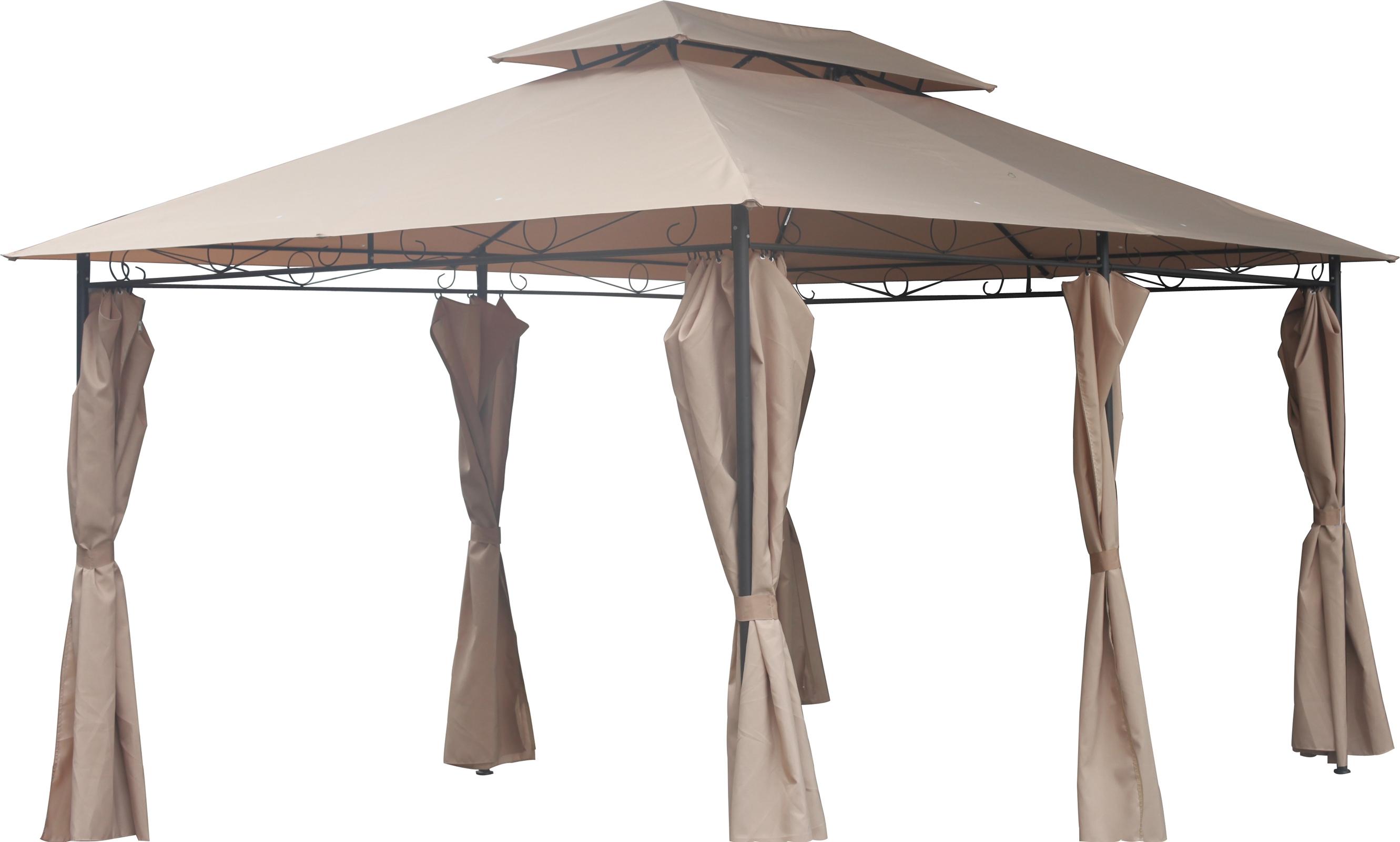 Foxhunter 3m X 4m Garden Pavilion Gazebo Shelter