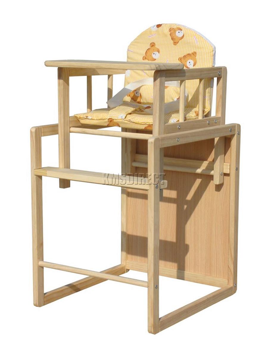 FoxHunter Baby High Chair Highchair Feeding Seat Table