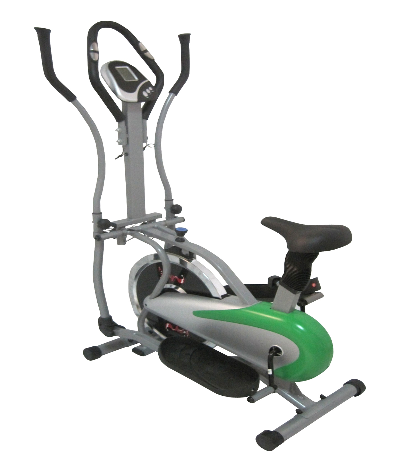 FoxHunter Elliptical Cross Trainer Exercise Bike Fitness