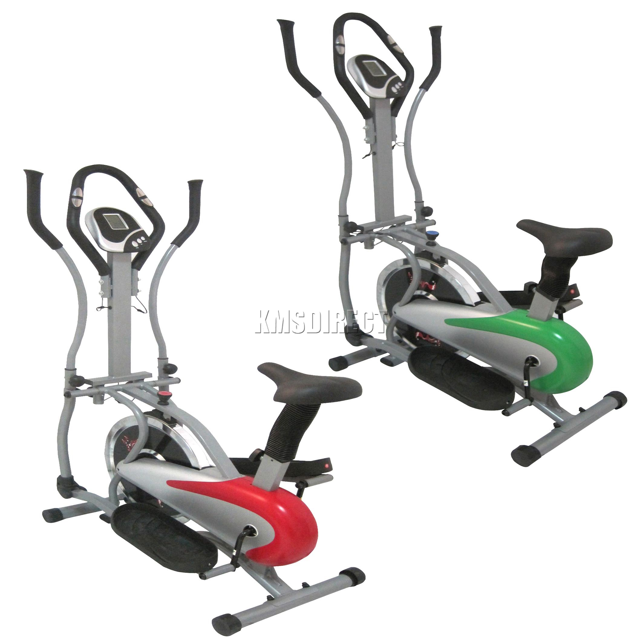 FoxHunter Exercise Bike Elliptical Cross Trainer Fitness Cardio Body Workout Gym