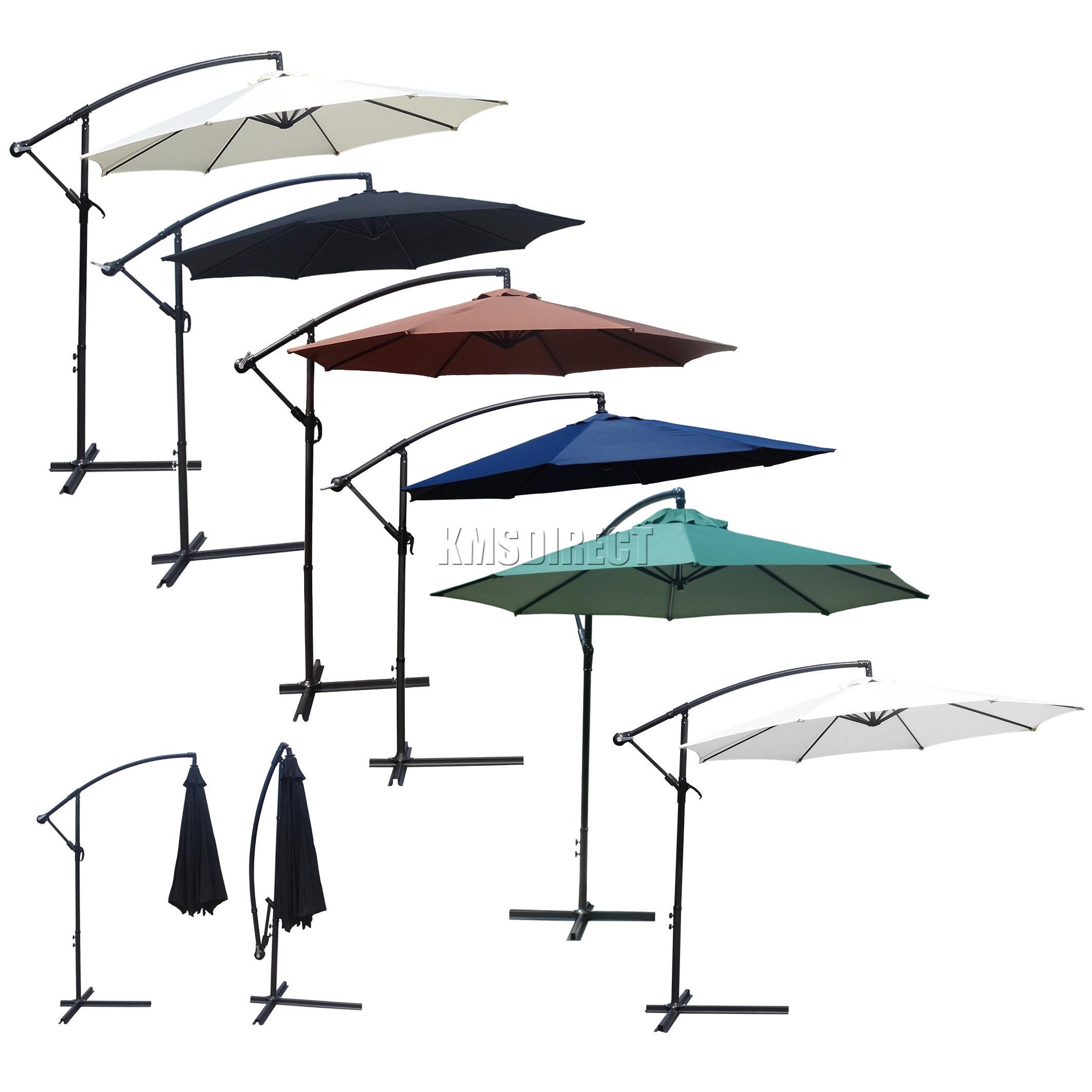Umbrella Stand Definition: FoxHunter Jardin Parasol Soleil Shade Patio Banane