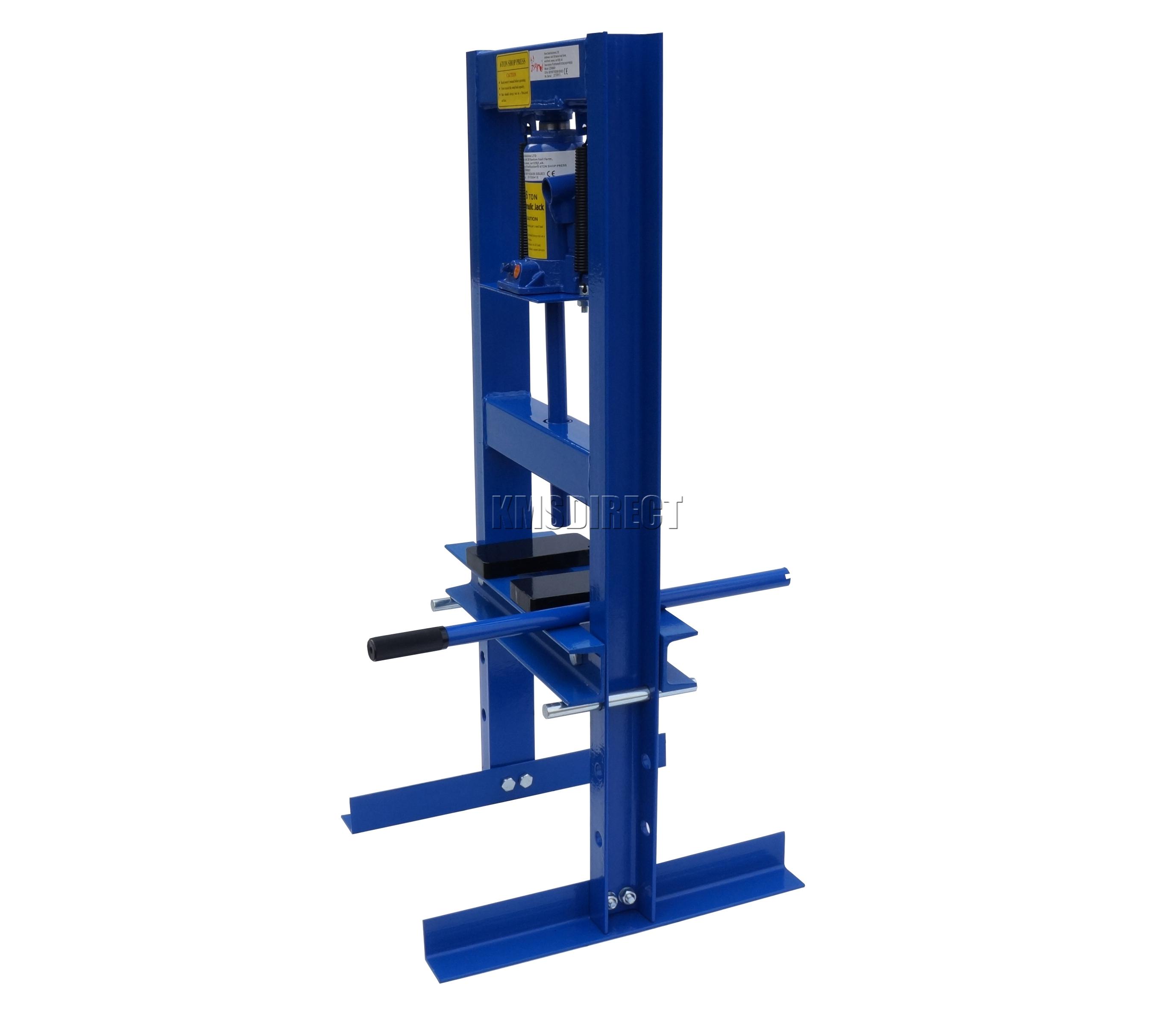Foxhunter 6 Ton Tonne Hydraulic Garage Workshop Shop Press