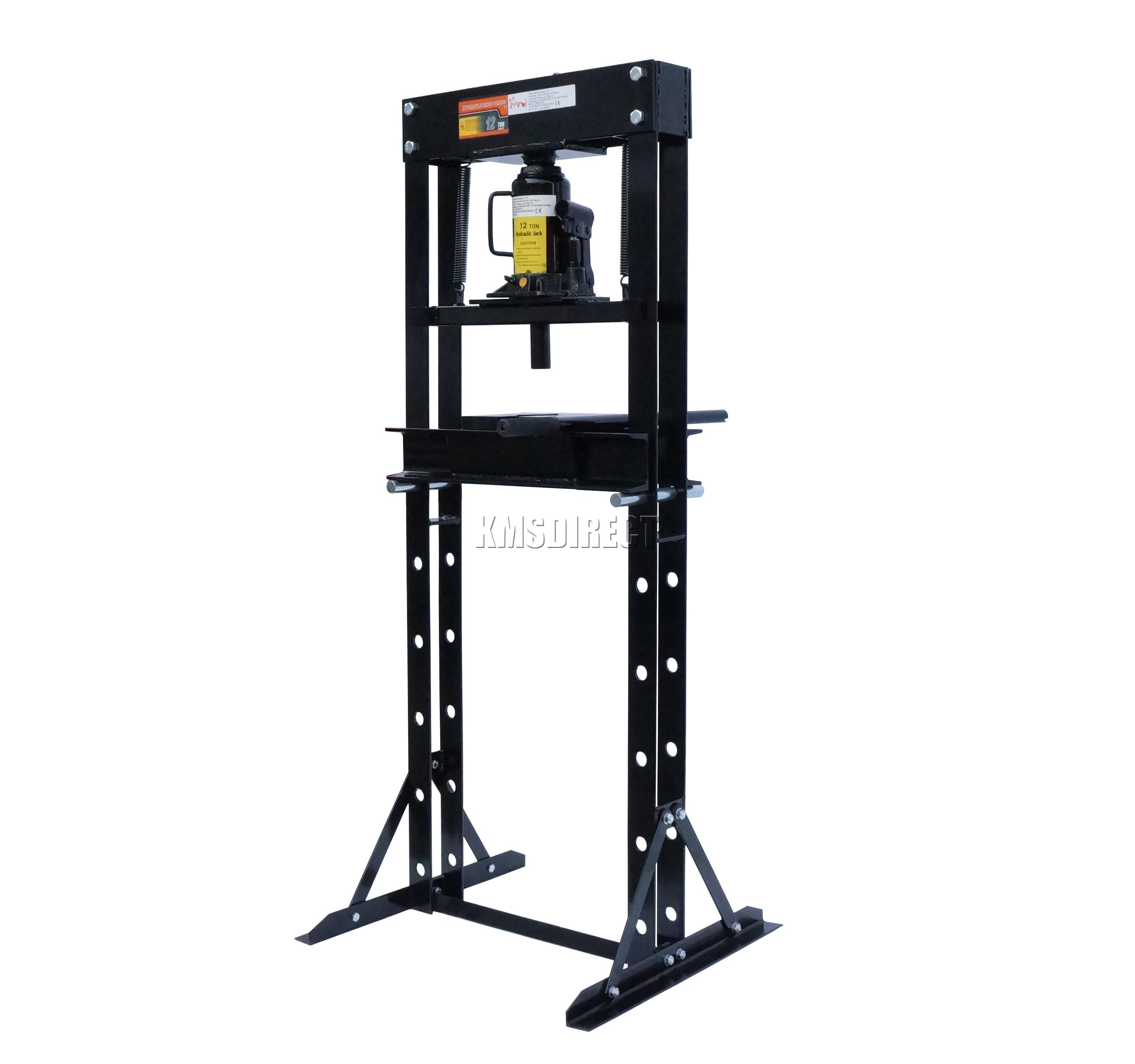 Foxhunter 12 Ton Tonne Hydraulic Garage Workshop Shop