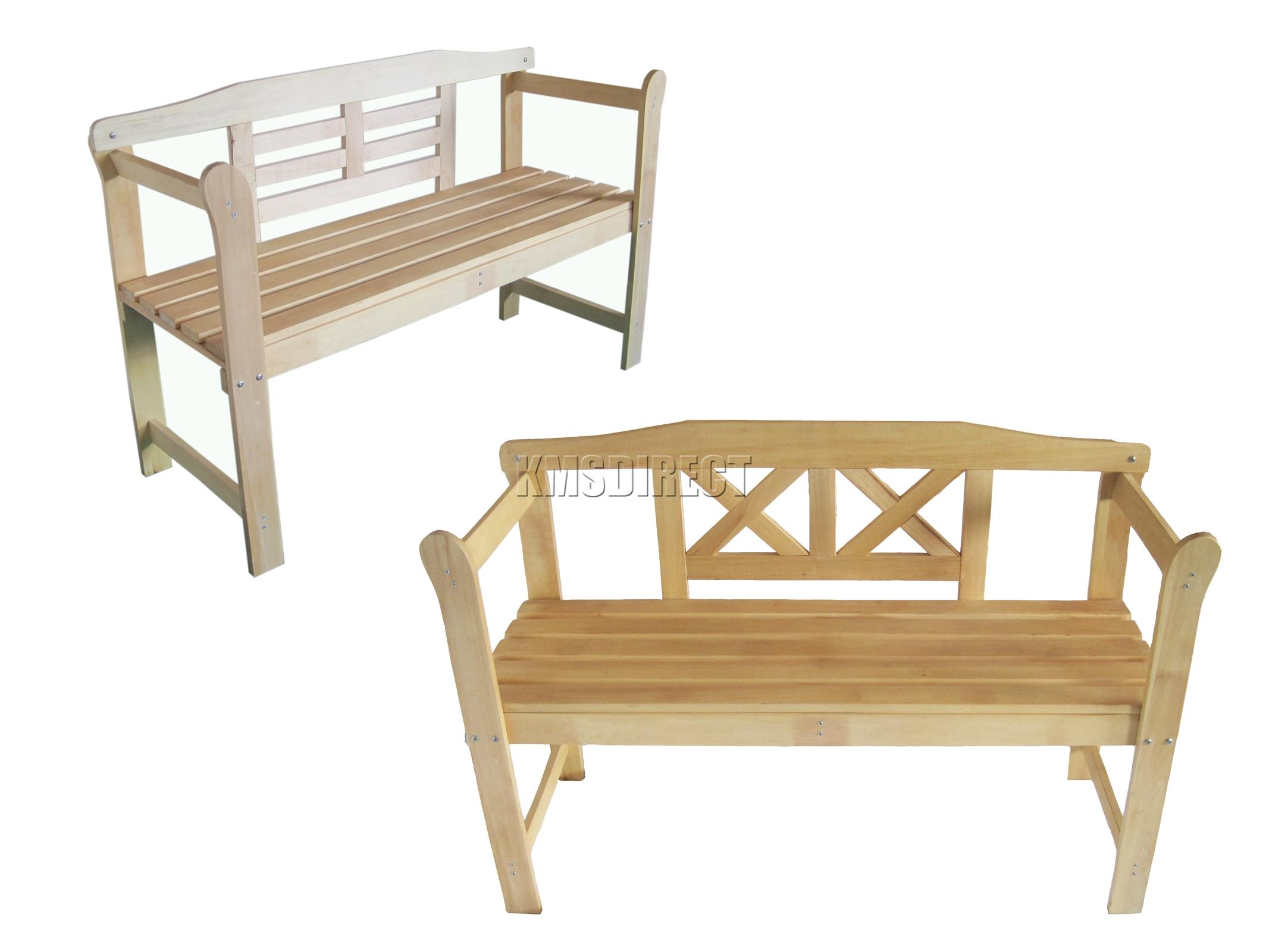Banco de madera para exterior - ShareMedoc