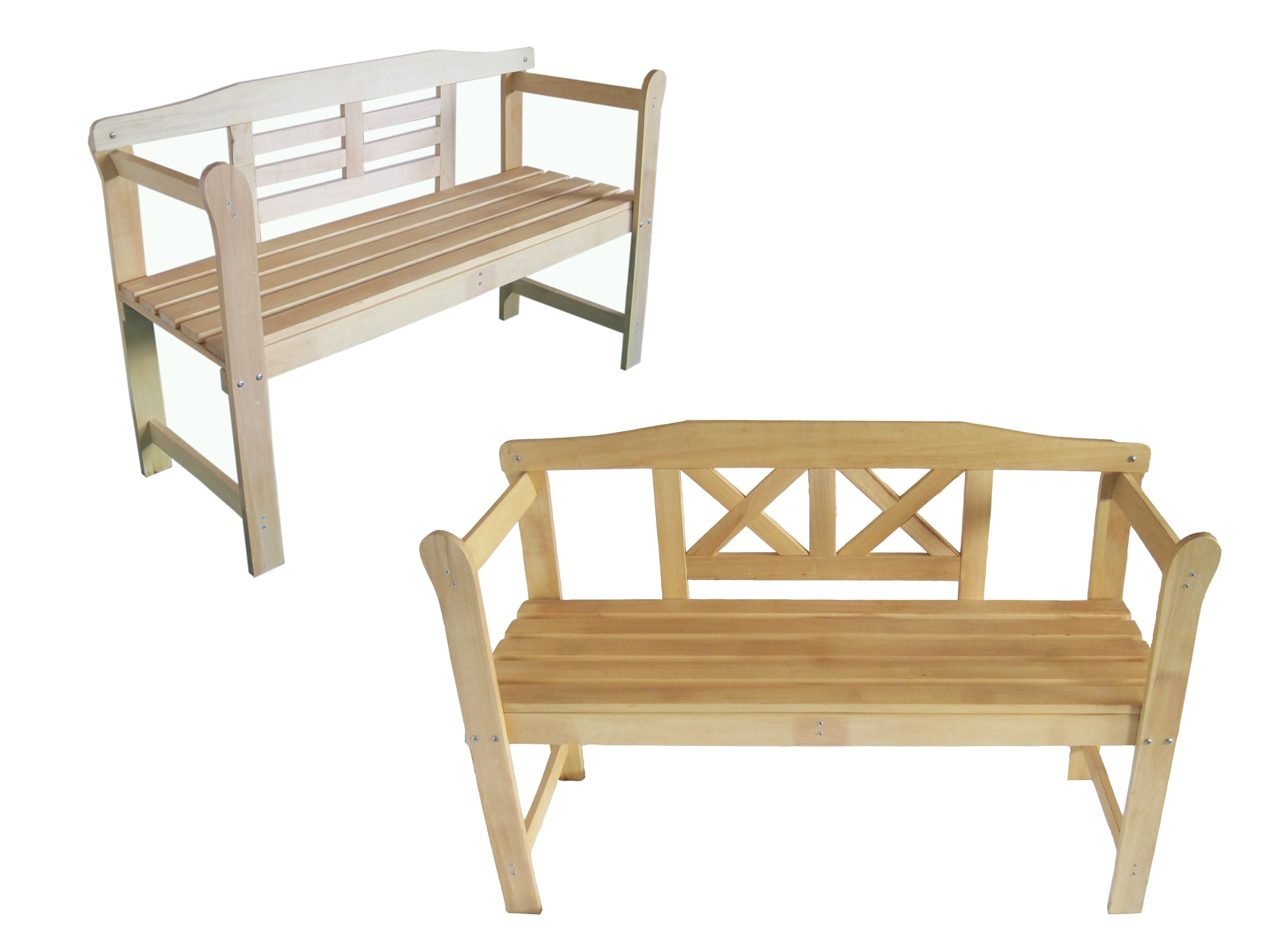 Foxhunter home outdoor 2 seat seater wooden garden bench for Garden furniture deals