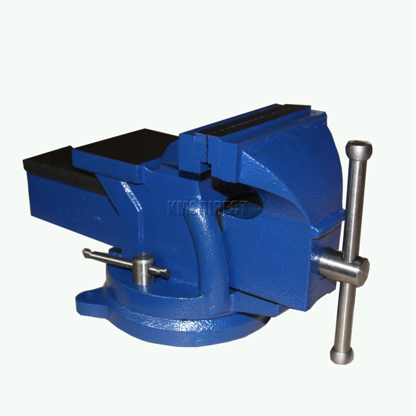 Foxhunter Swivel Base Bench Vice Vise Jaw Clamp For Workbench Table Garage Tool Ebay