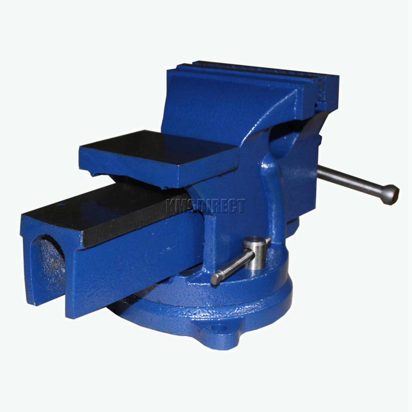 What Is A Bench Vise Used For: FoxHunter Swivel Base Bench Vice Vise Jaw Clamp For