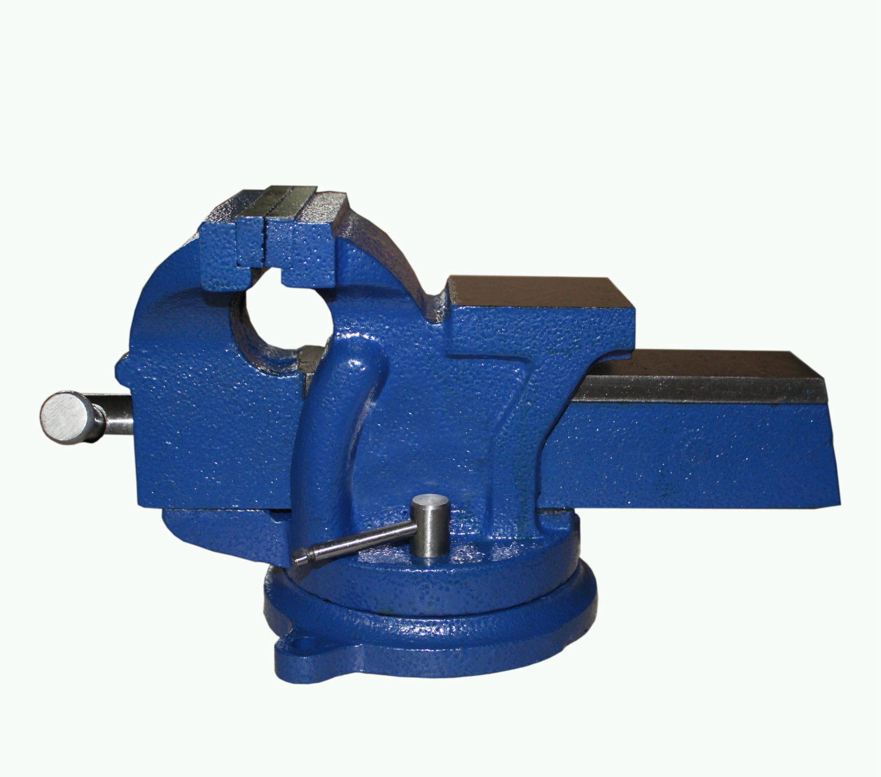 Foxhunter Bench Vice Vise Jaw Clamp Swivel Base For