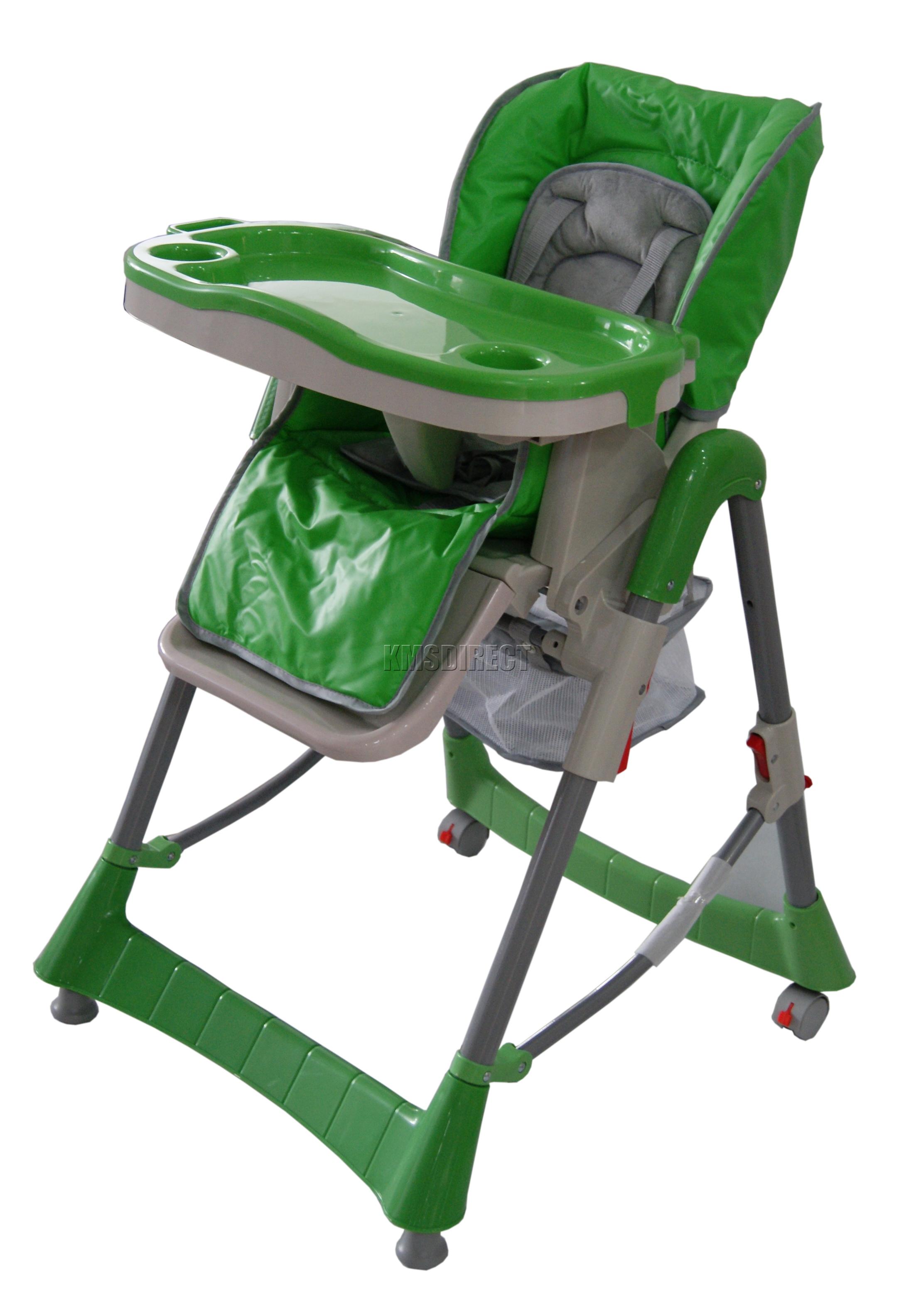 Height Adjustable Baby High Chair Recline Highchair