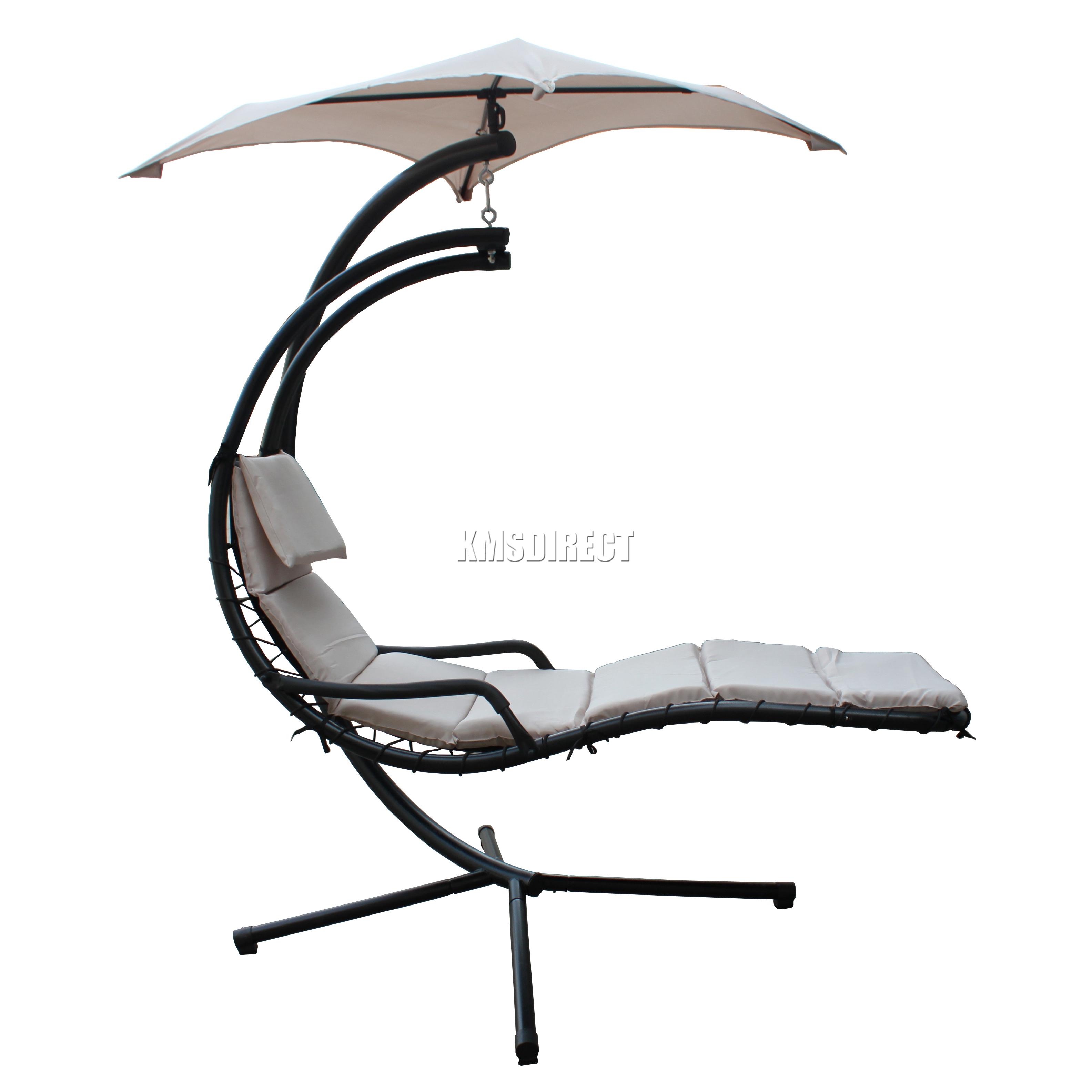 FoxHunter Garden Swing Hammock Helicopter Hanging Chair Seat Sun
