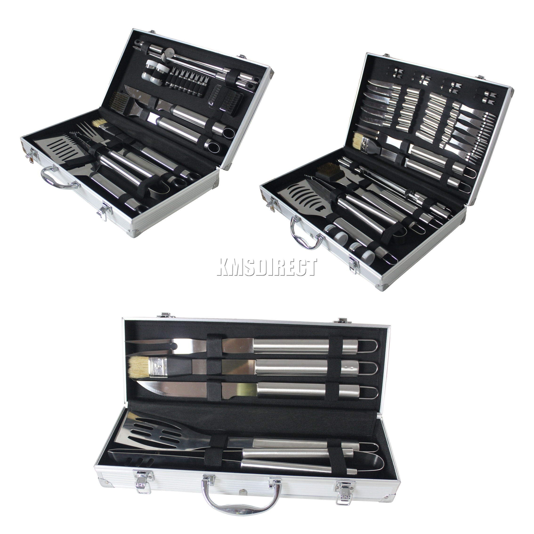 Foxhunter stainless steel bbq grill cooking utensils tool