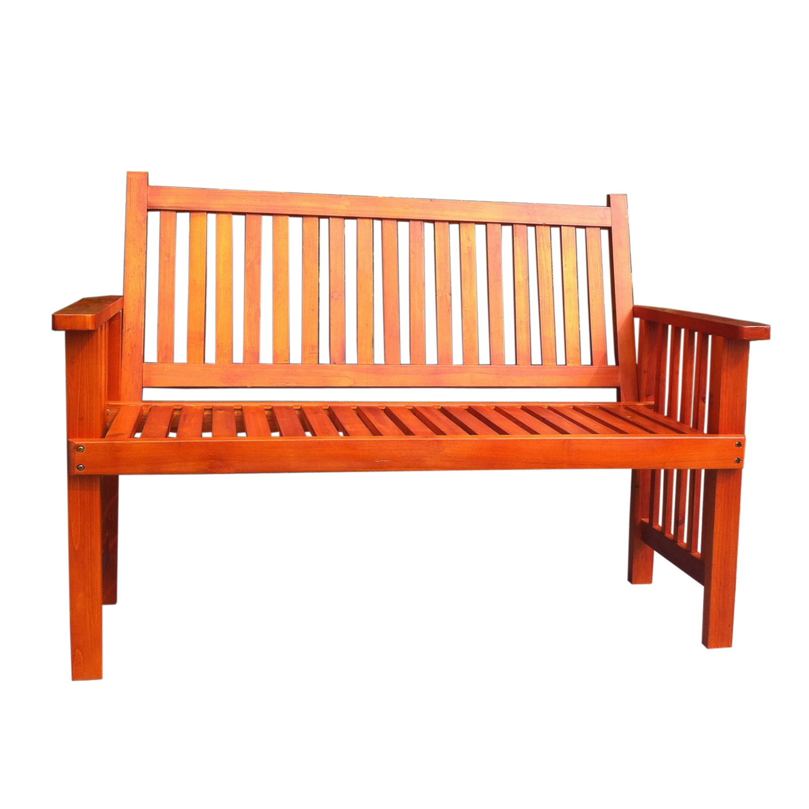 Foxhunter Wooden Garden Bench 2 Seat Seater Hardwood Outdoor Patio Park Fhwb01 Ebay