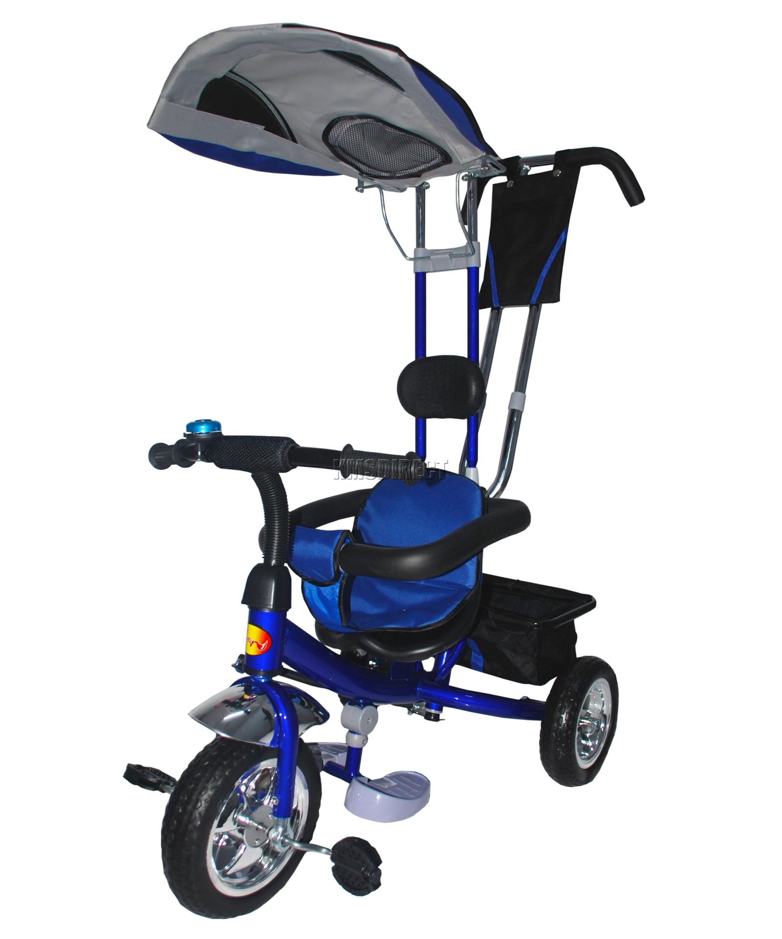 FoxHunter 4In1 Children Kids Trike Tricycle 3 Wheel Ride Bike ...