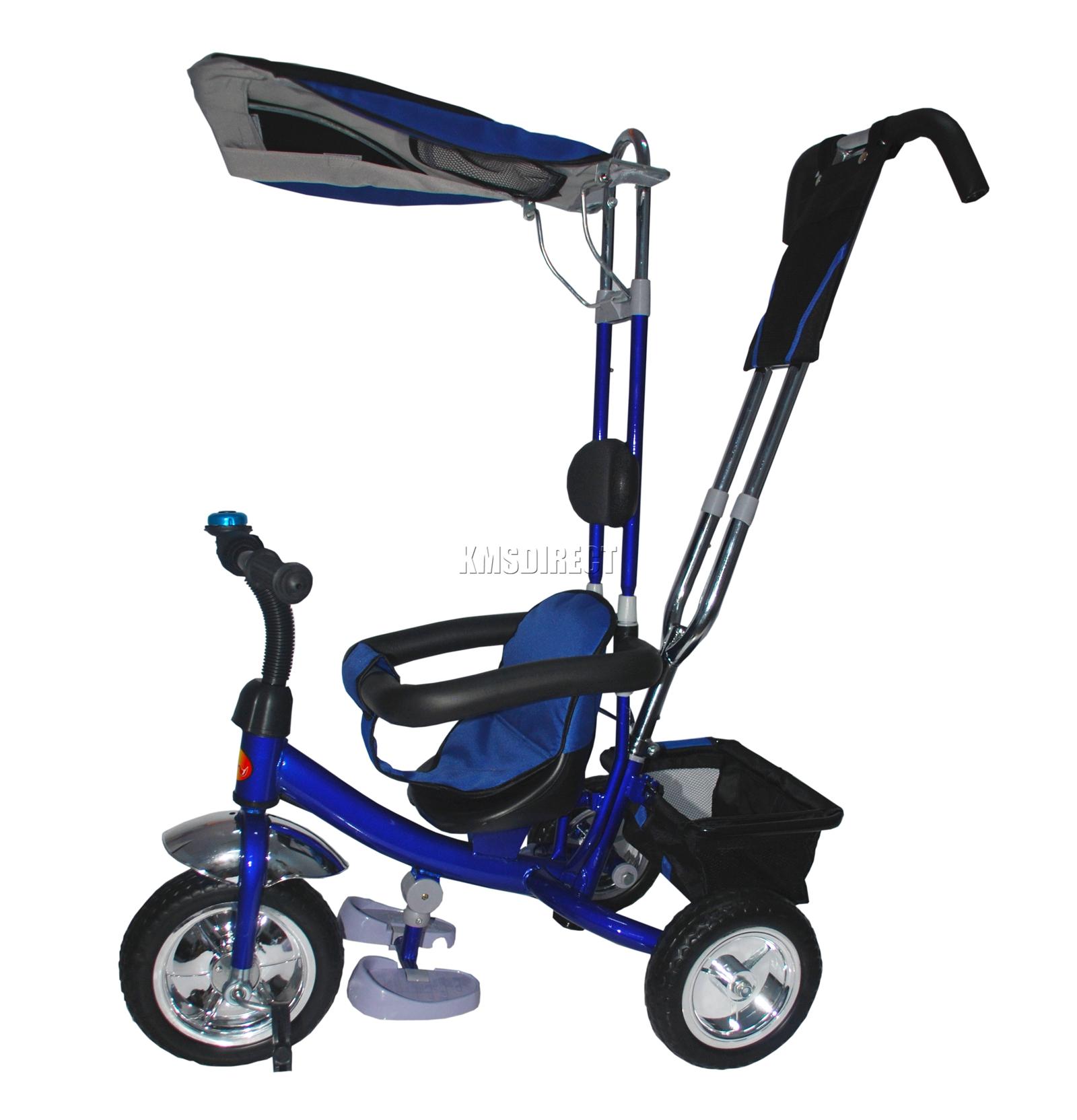 Foxhunter 4in1 Children Kids Trike Tricycle 3 Wheel Ride