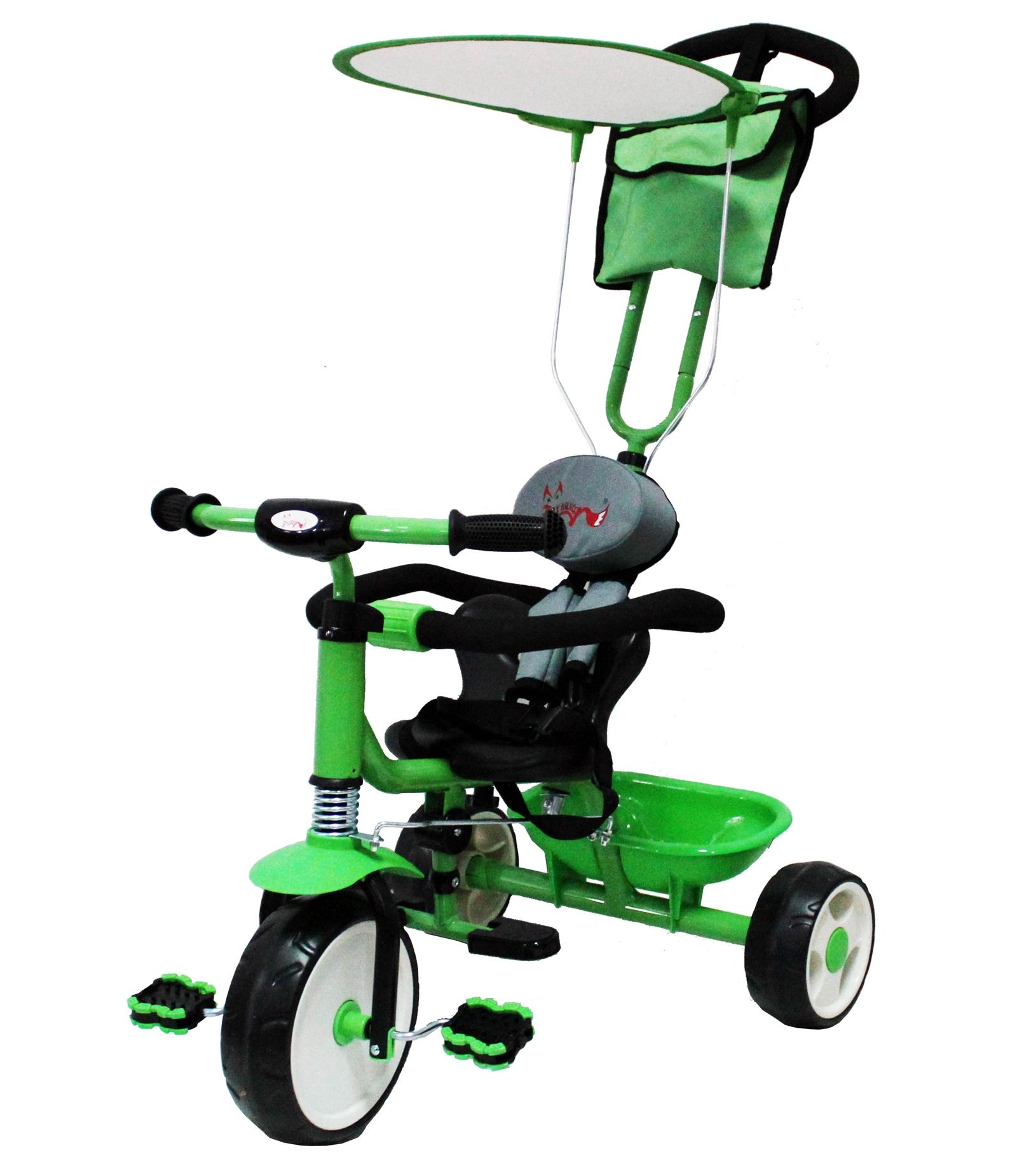 Foxhunter Tricycle Enfants 3 Roue 4 En 1 V 233 Lo Rando