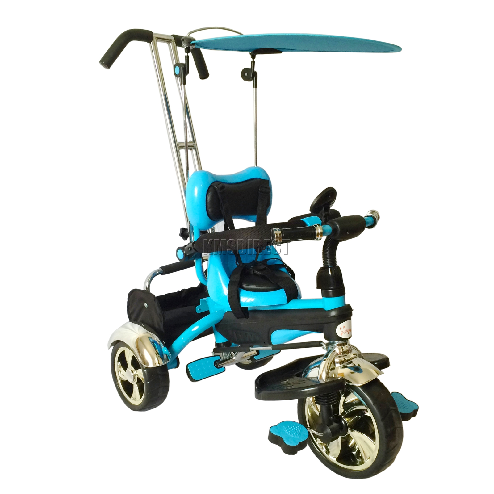 Foxhunter 4in1 Kids Children Trike Tricycle 3 Wheel Ride