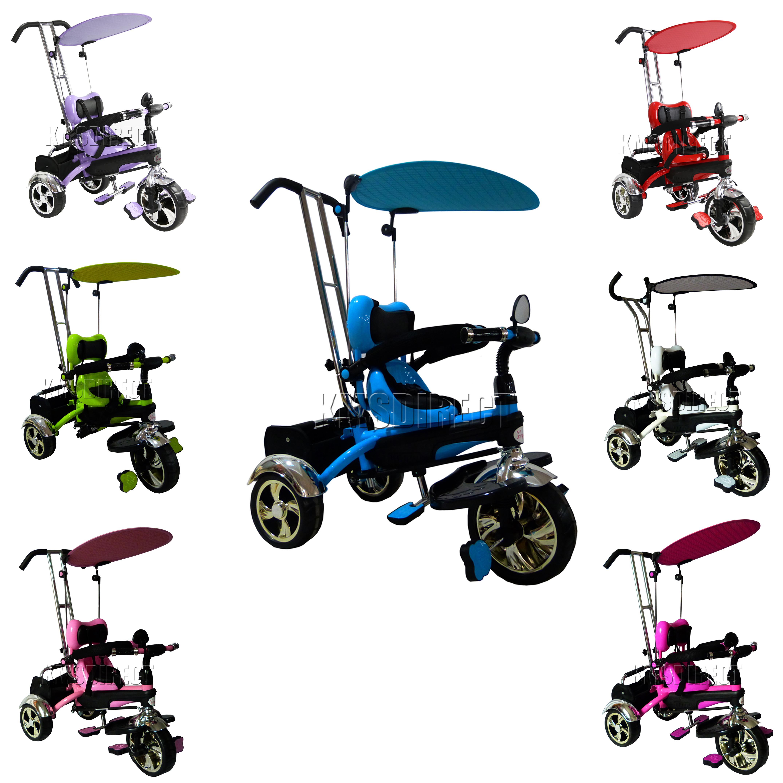 Foxhunter Kids Children Trike Tricycle 3 Wheel 4in1 Ride