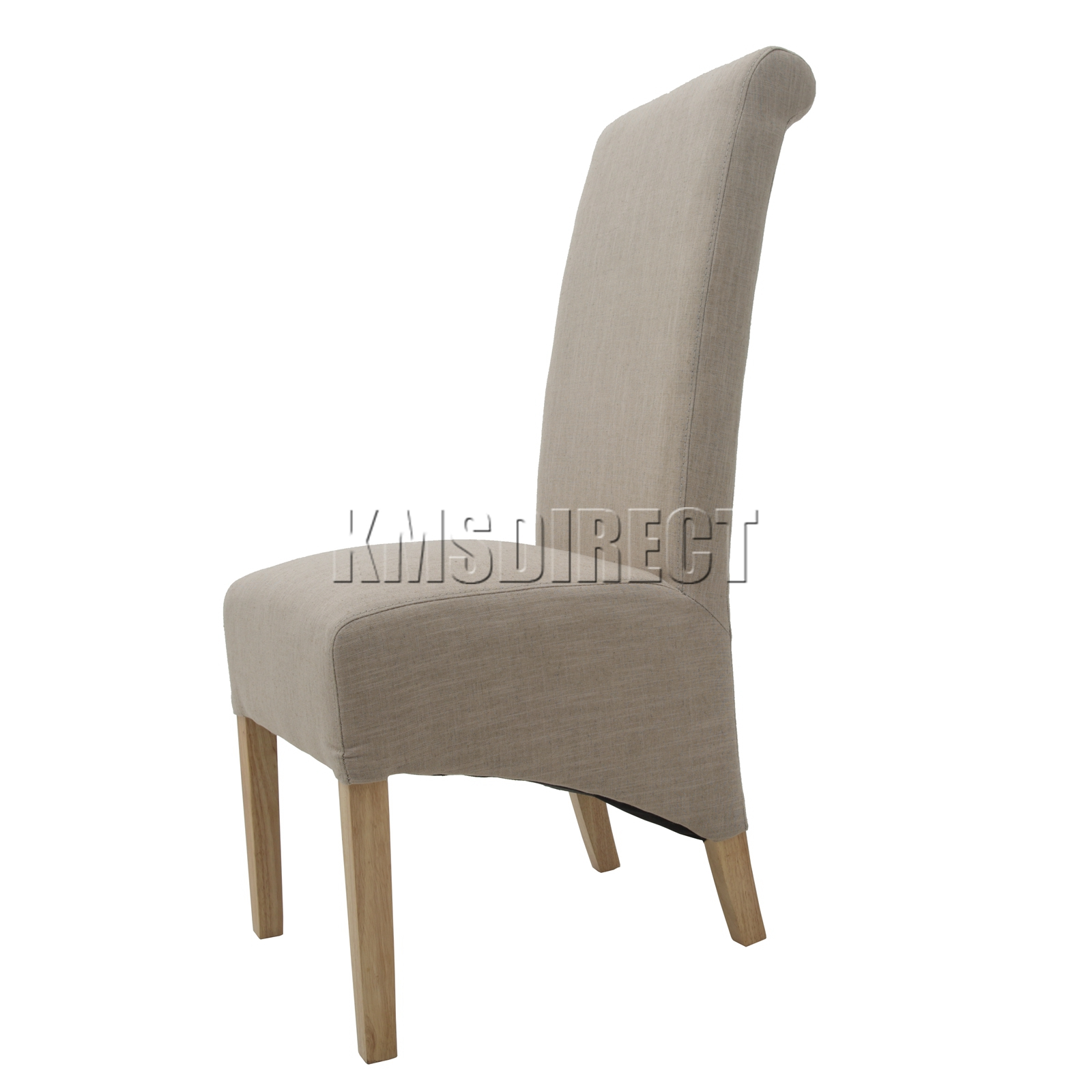 Fabric High Back Dining Chairs