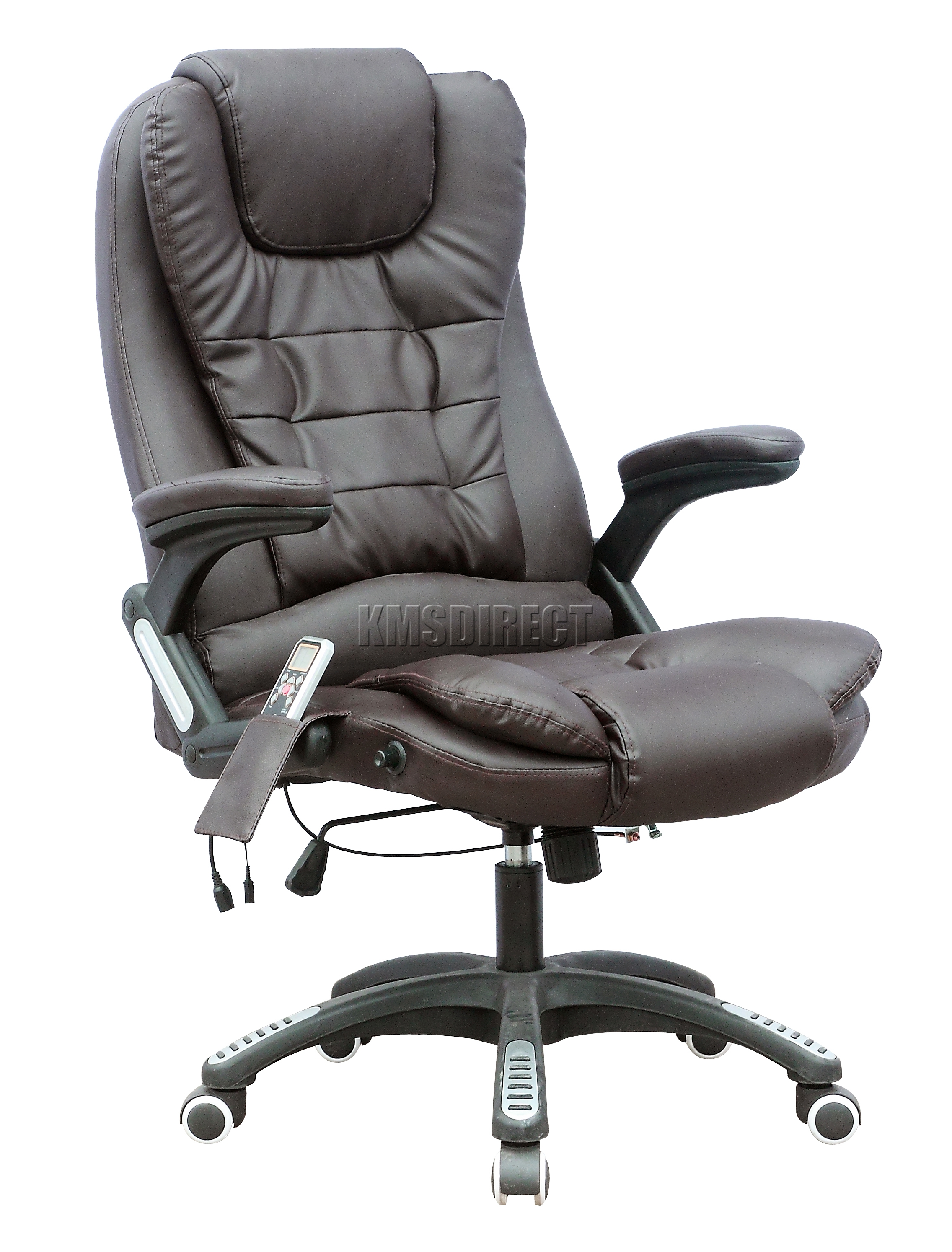 Foxhunter 8025 Leather 6 Point Massage Office Computer