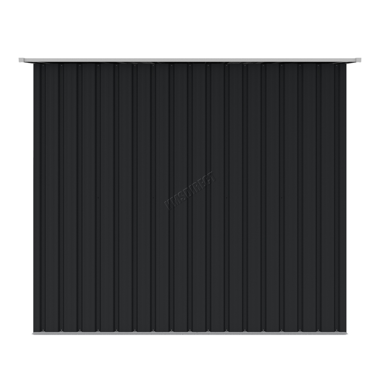 Foxhunter new garden shed metal pent roof outdoor storage for Garden shed tab
