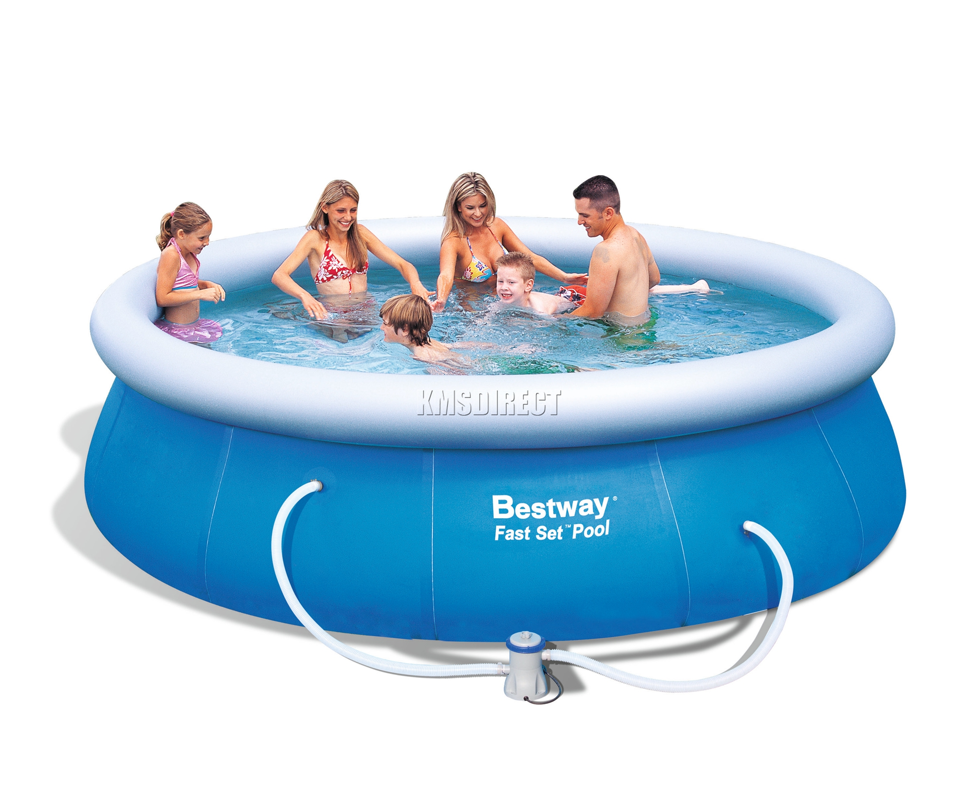 bestway swimming ground pool round inflatable 12ft x 36inch with filter pump ebay. Black Bedroom Furniture Sets. Home Design Ideas