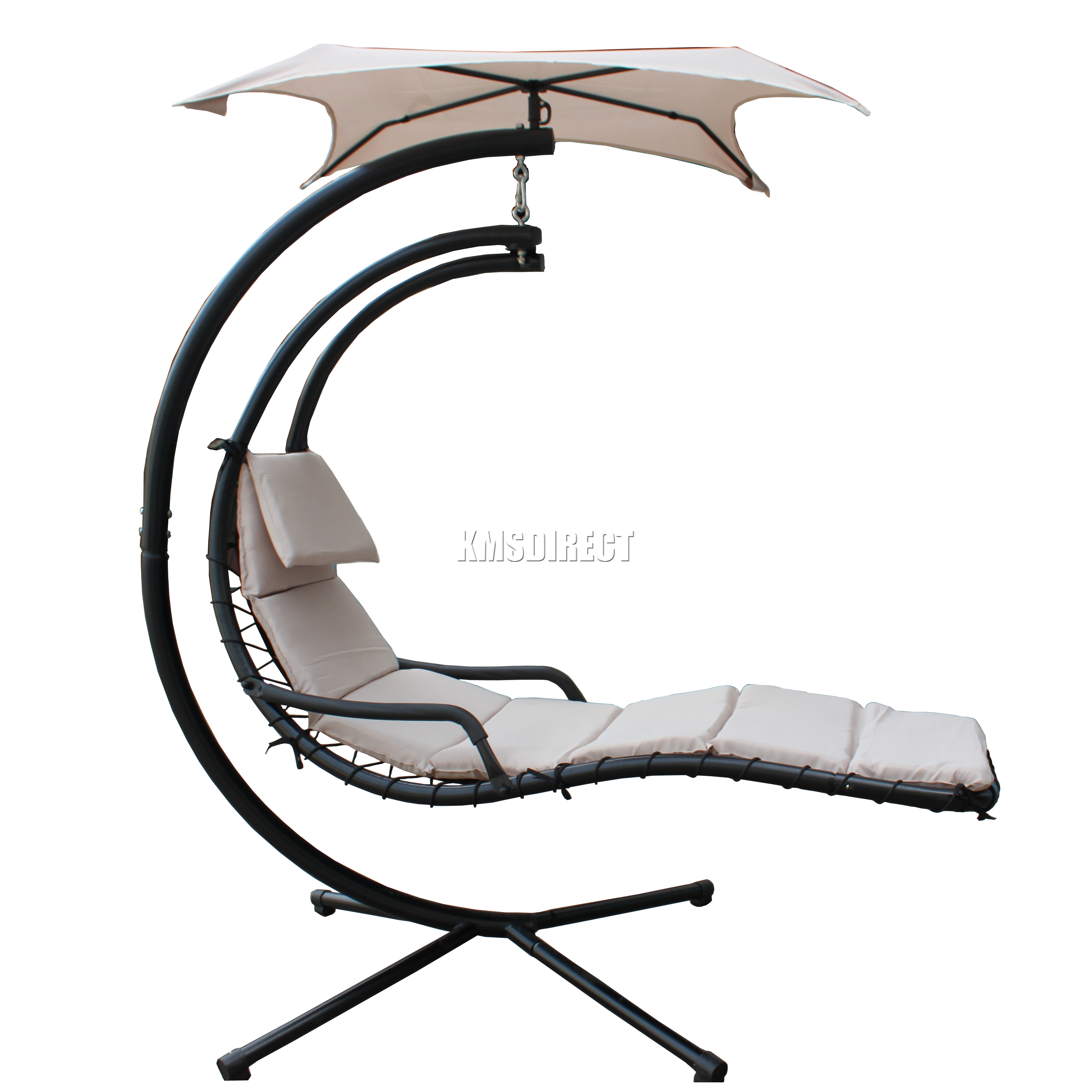 FoxHunter-Garden-Outdoor-Helicopter-Dream-Chair-Swing-Hammock-  sc 1 st  eBay : dream chair swinging chaise lounge - Sectionals, Sofas & Couches