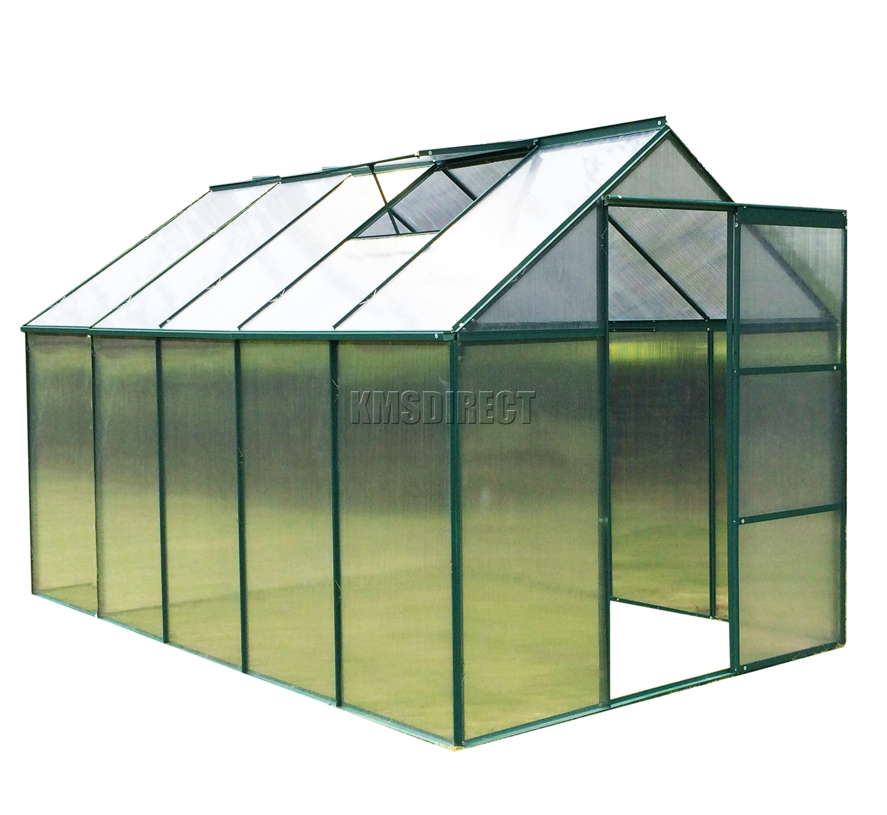 how to clean polycarbonate greenhouse panels