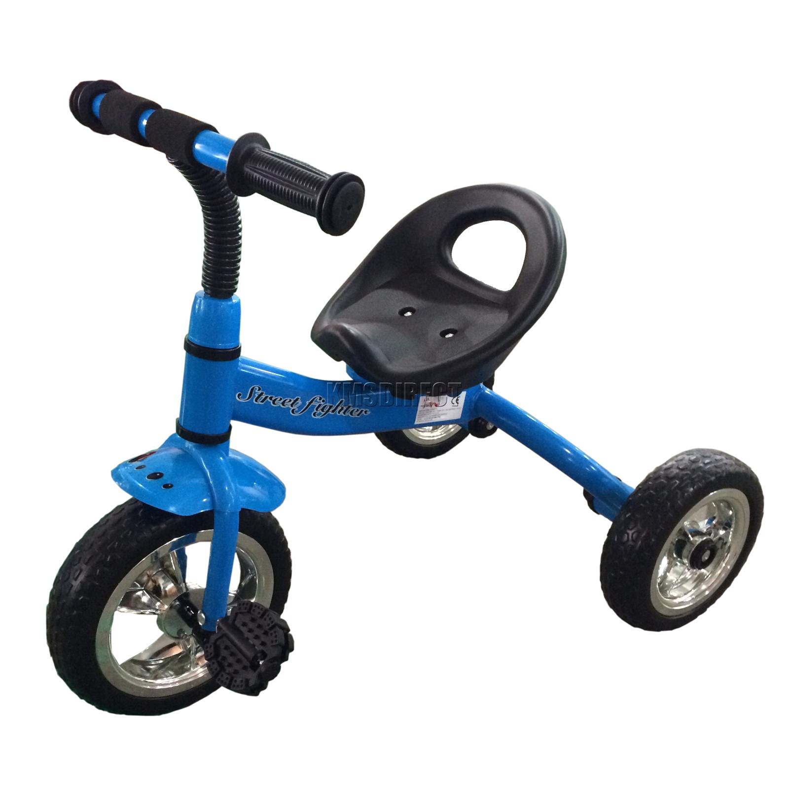 Three Wheeler Frame : Foxhunter blue child children kids trike tricycle wheel