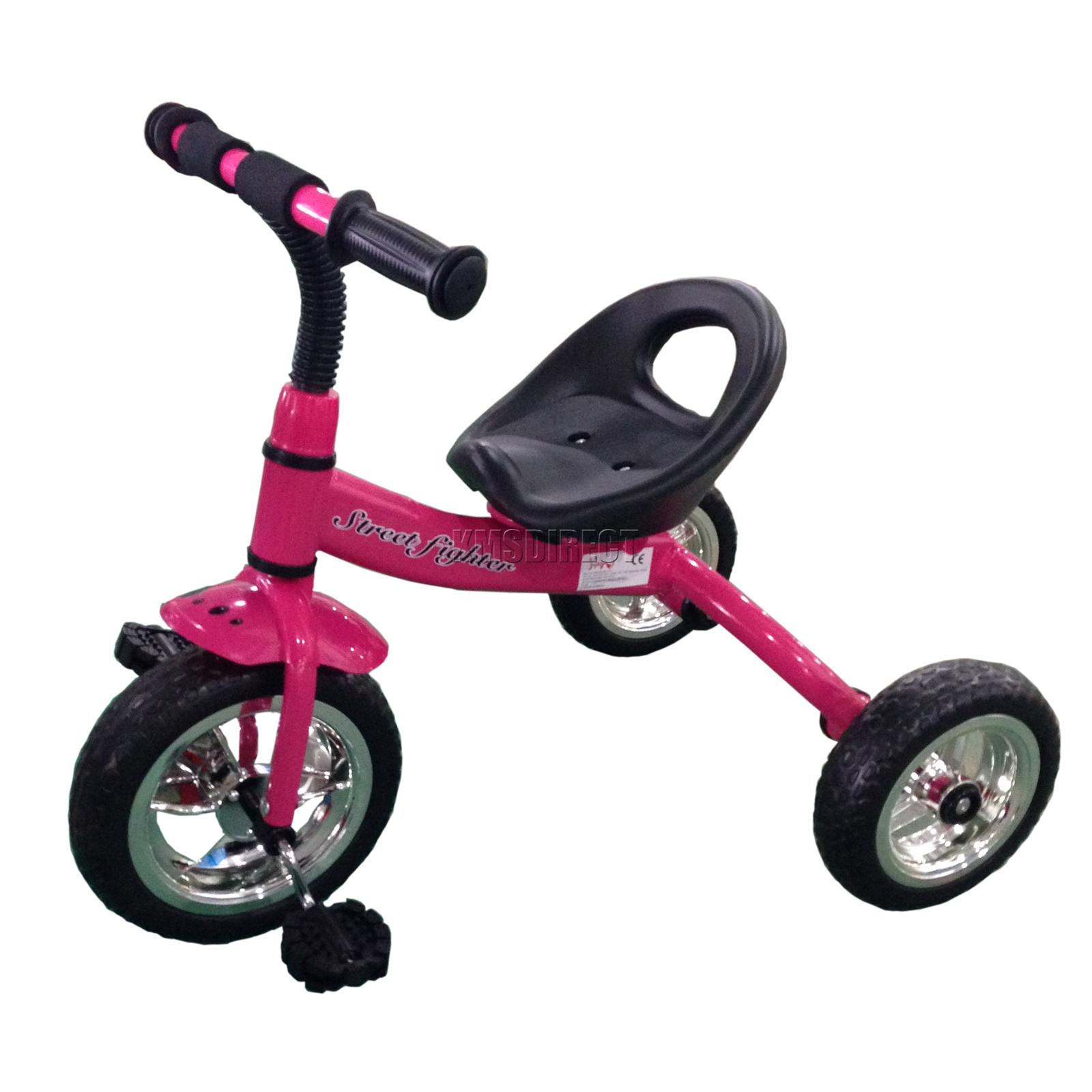 foxhunter pink child children kids trike tricycle 3 wheel. Black Bedroom Furniture Sets. Home Design Ideas
