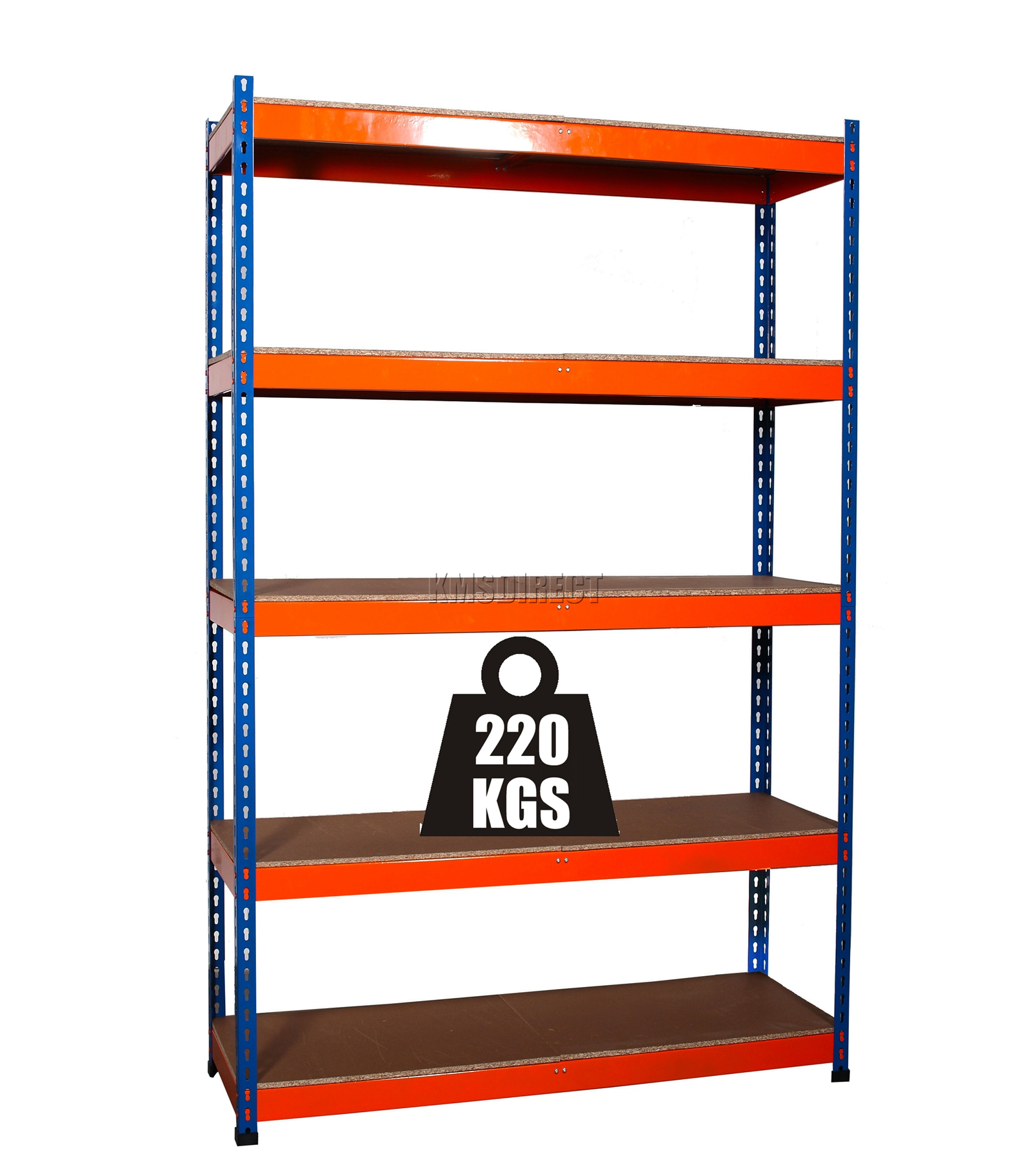 Foxhunter 5 niveles sin tornillos blu organizador - Estanterias para garaje ...