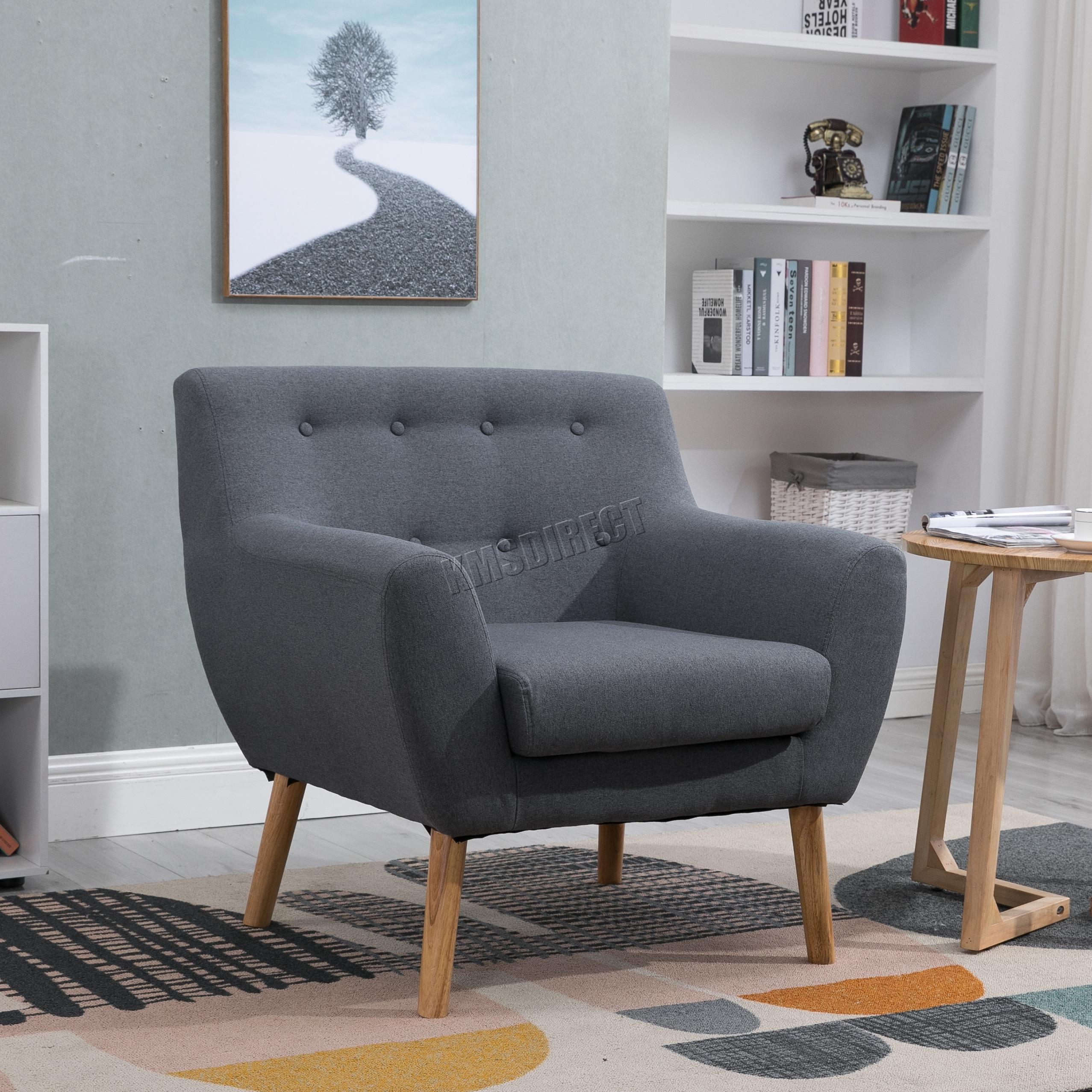 Grey Armchair Uk Ebay DimensionsGrey Chair Armchair Wing Back Fireside Duke